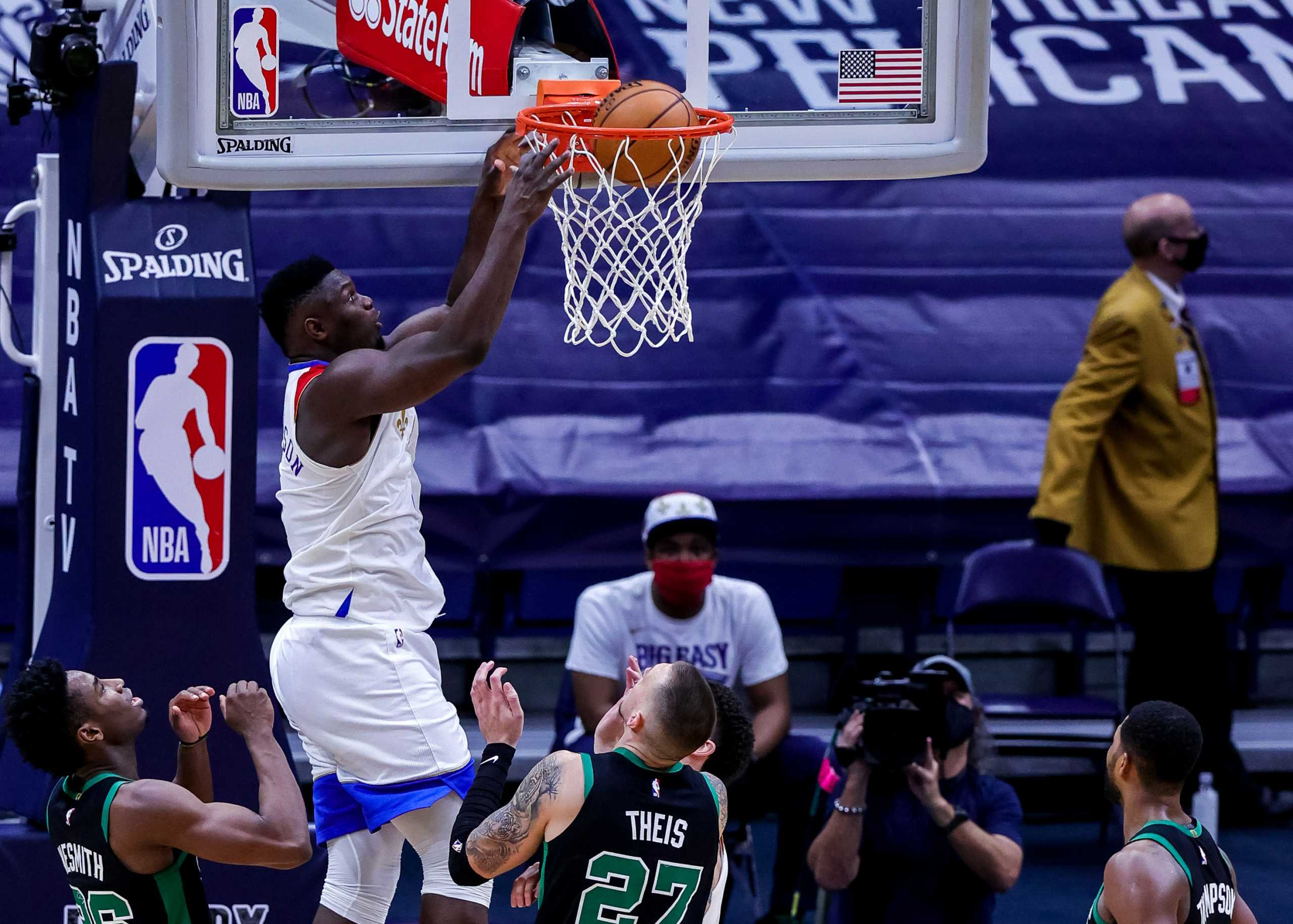 Χαμός στο NBA με τον Ζάιον Γουίλιαμσον και τους Νιου Ορλίνς Πέλικανς