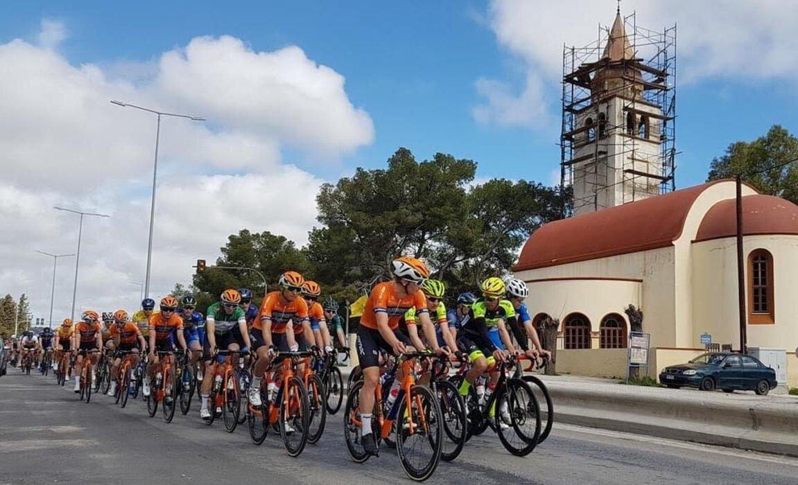 Εκκίνηση στους Διεθνείς Ποδηλατικούς αγώνες στη Ρόδο (video)