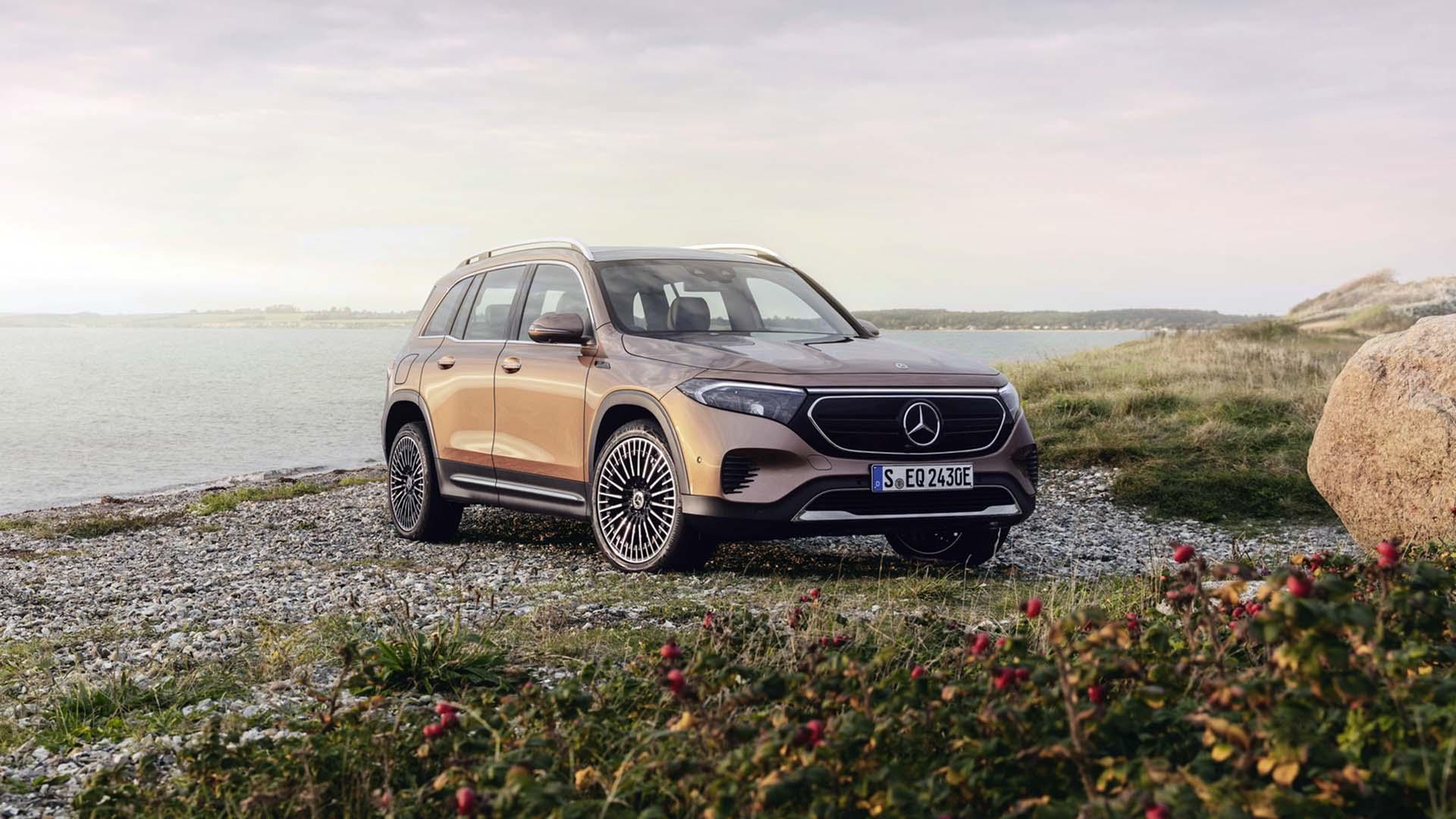 H Mercedes-Benz παρουσιάζει την ηλεκτρική και 7θέσια EQB (video)