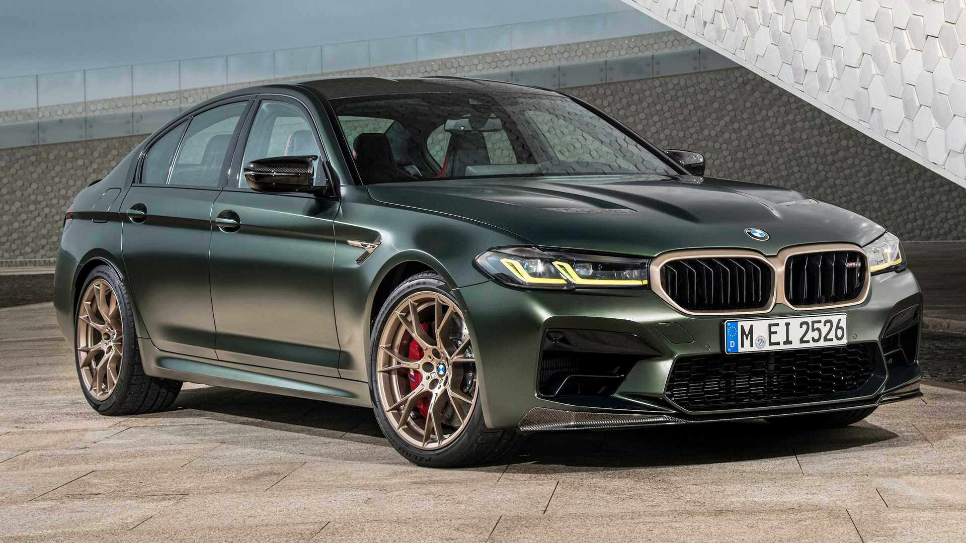 BMW M5 CS: Πόσο κοστίζει η ισχυρότερη BMW όλων των εποχών στην Ελλάδα; (video)