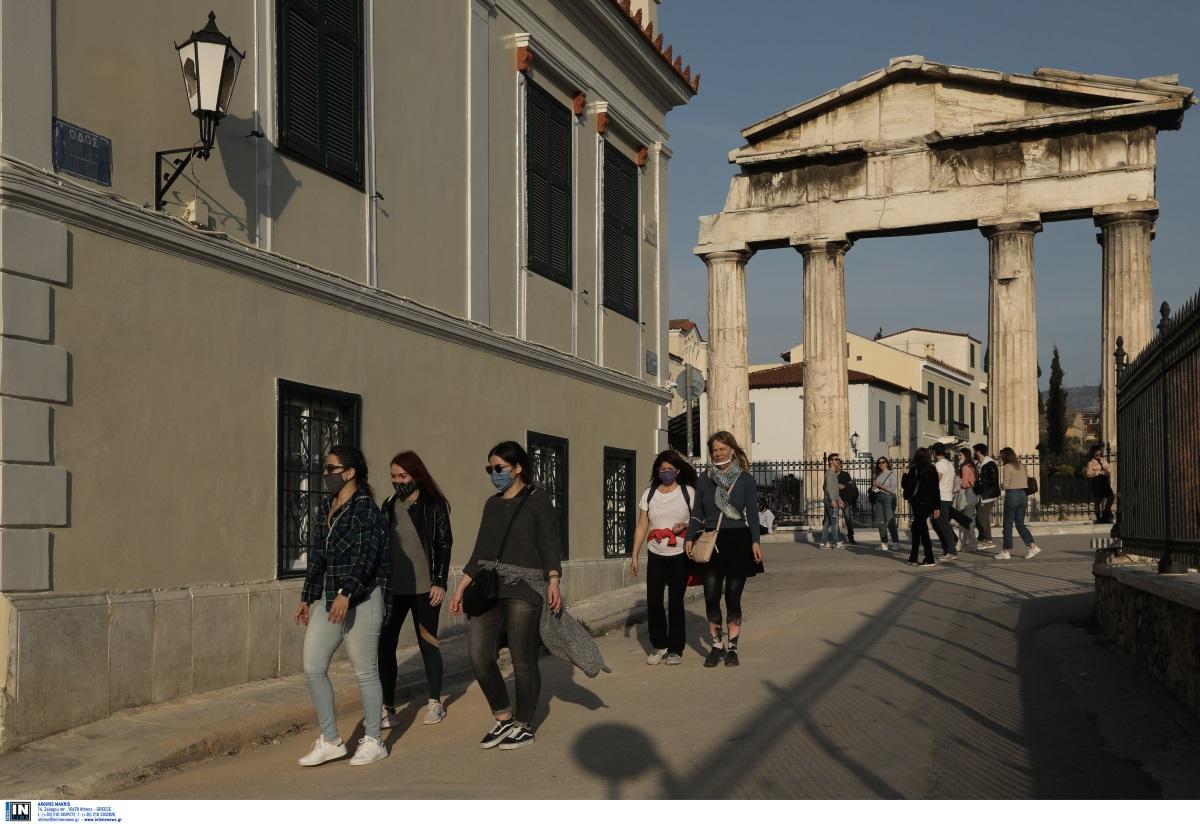Κορονοϊός: 1305 κρούσματα στην Αττική, 374 στη Θεσσαλονίκη – Ο χάρτης της κατανομής