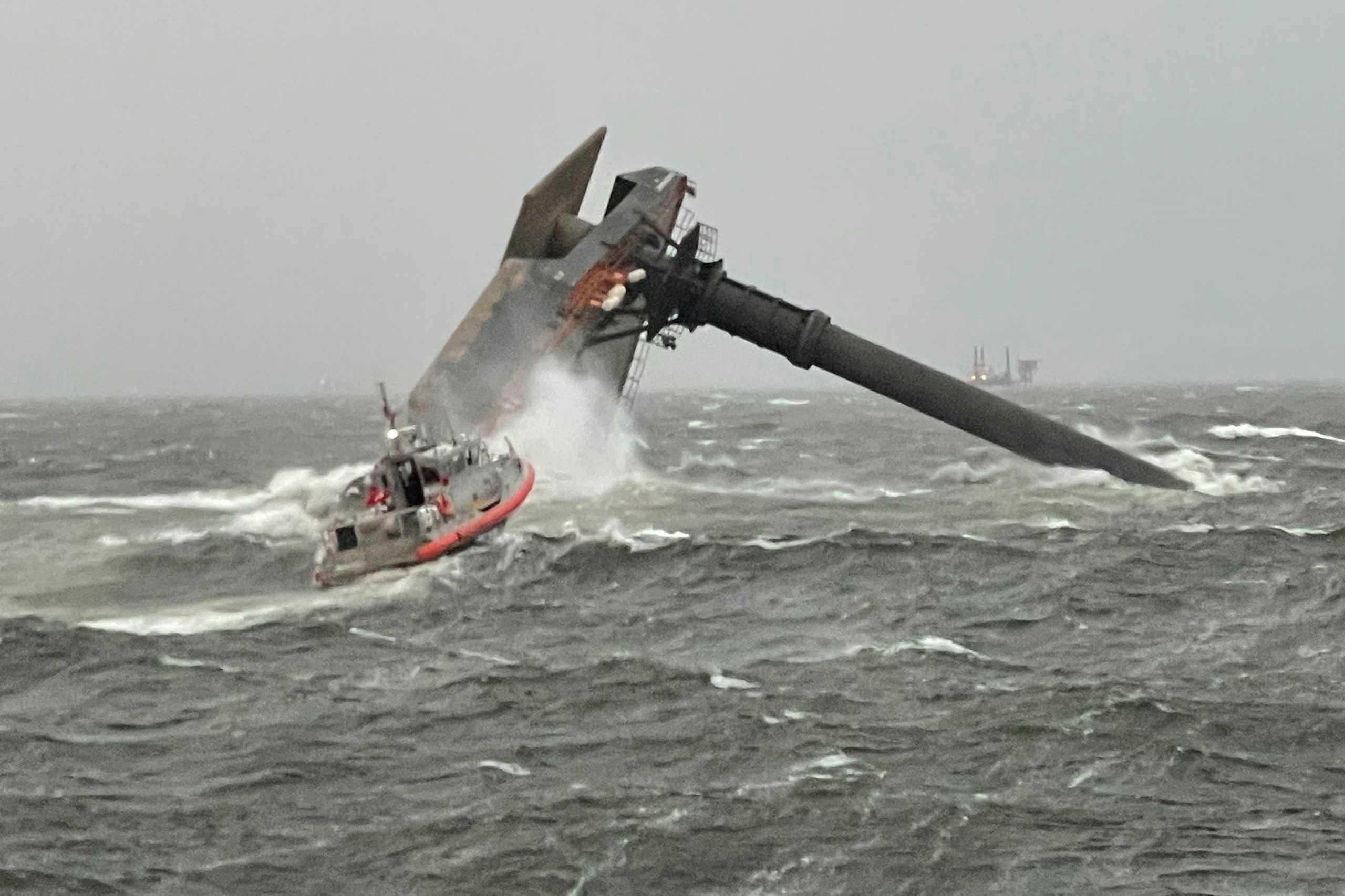 Τραγωδία στον Κόλπο του Μεξικού με έναν νεκρό και 12 αγνοούμενους