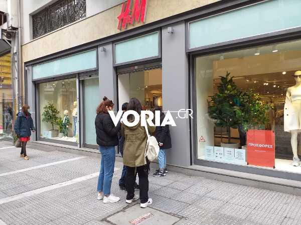 Θεσσαλονίκη: Αυξημένη κίνηση για αγορές click inside – Χαμόγελα αισιοδοξίας από εμπόρους (video)