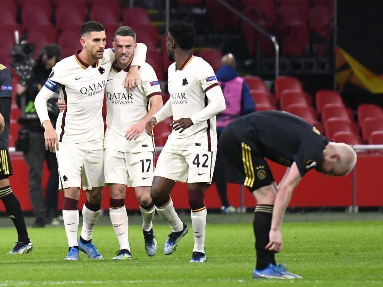 Europa League: «Έμφραγμα» για Αρσεναλ, ανατροπή πρόκρισης η Ρόμα – Όλα τα γκολ (videos)