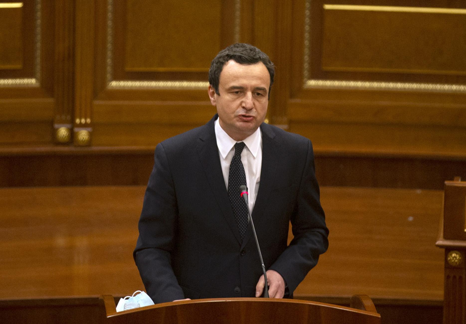 Κόσοβο: Αποχωρεί ο πρωθυπουργός Κούρτι από τις συνομιλίες με τη Σερβία