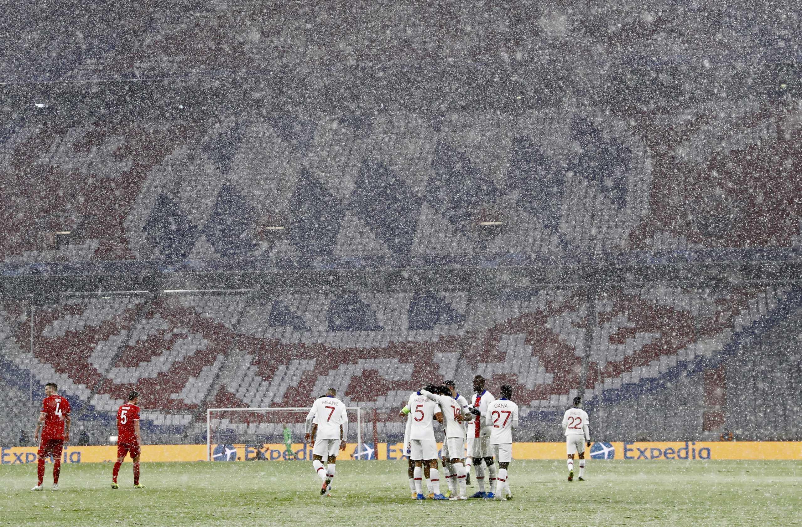 Μπάγερν Μονάχου – Παρί Σεν Ζερμέν:  Γαλλική «ραψωδία» στο χιονισμένο Μόναχο (video)