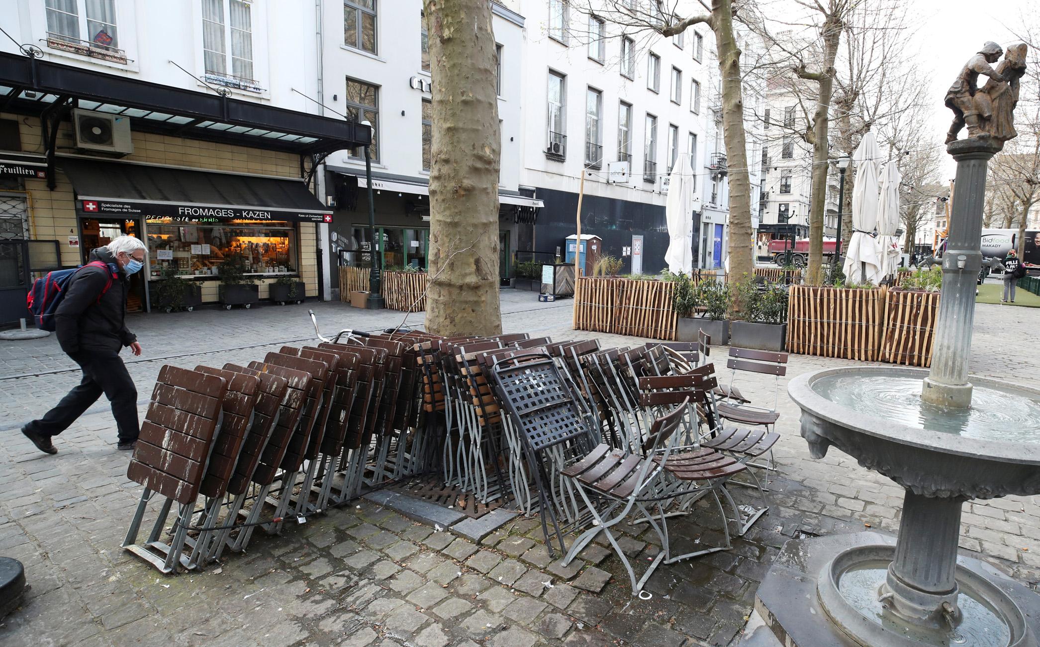 Βέλγιο: Στις 8 Μαΐου θα ανοίξει και πάλι η εστίαση