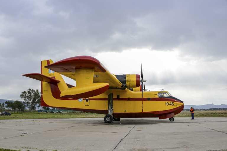 Πολύτιμη η συνδρομή της Πολεμικής Αεροπορίας με κατασβέσεις πυρκαγιών και αεροδιακομιδές