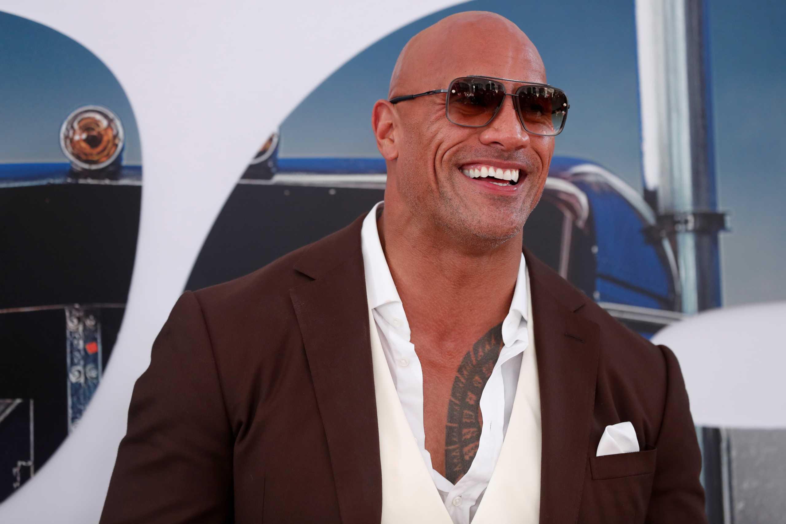Ο Dwayne «The Rock» Johnson σκέφτεται να βάλει υποψηφιότητα για πρόεδρος των ΗΠΑ