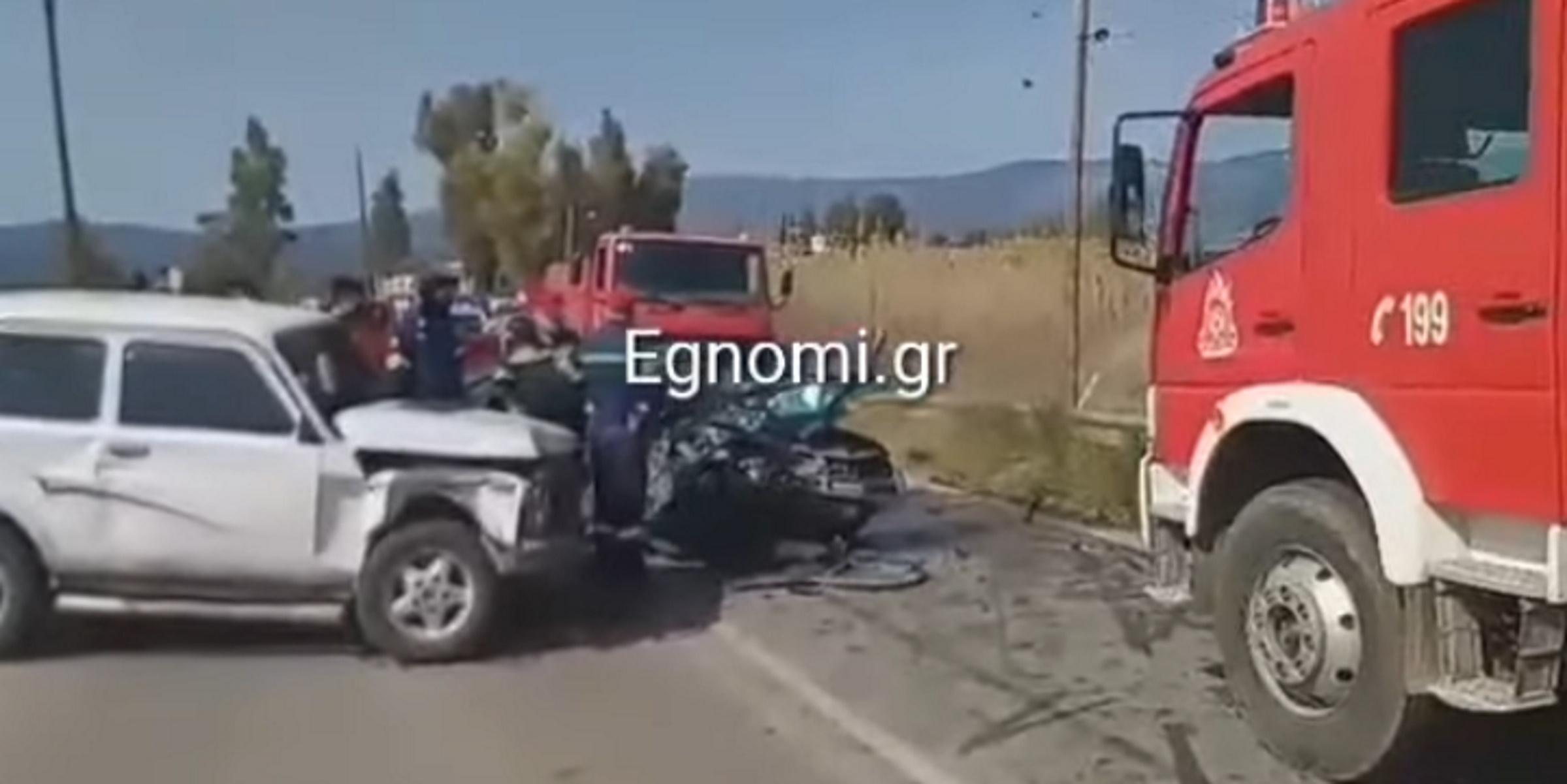 Θρήνος στην Εύβοια: Κατέληξε η 25χρονη που τραυματίστηκε σε τροχαίο – Νοσηλεύεται το μωρό της (video)