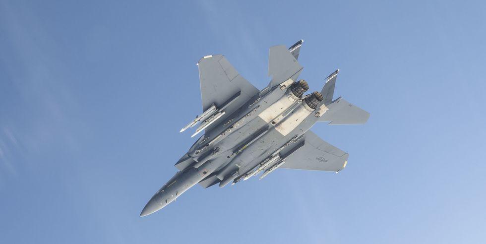 USAF: Μαχητικό F-15 πέτυχε την πιο μακρινή κατάρριψη στόχου στον κόσμο