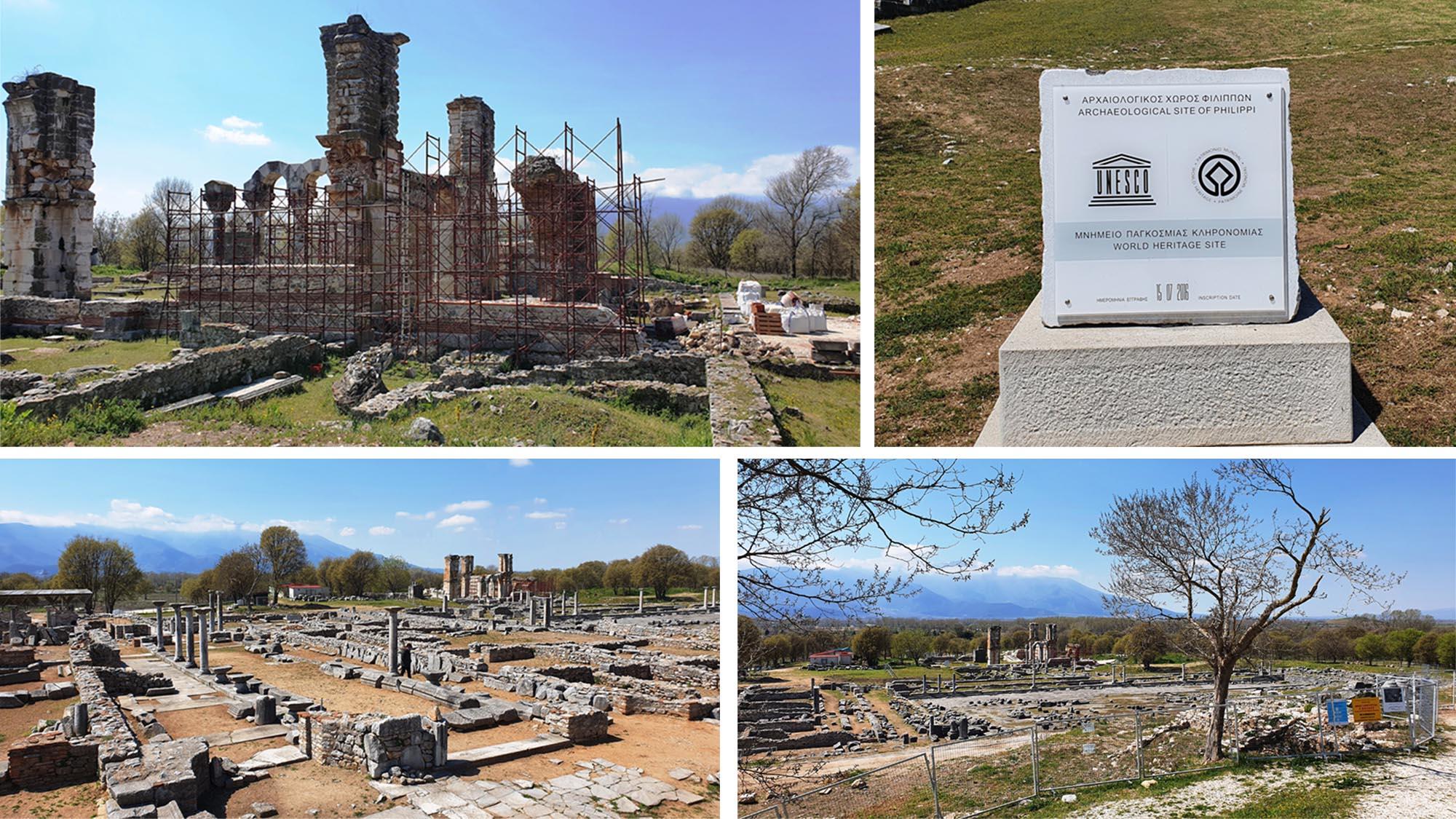 Καβάλα: Αποκαλύπτεται άγνωστο δημόσιο κτήριο της αρχαιότητας και οι δρόμοι προς το θέατρο των Φιλίππων (pic)