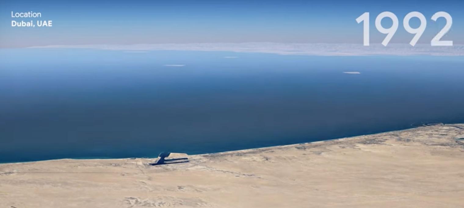 Google Earth: Γυρίστε πίσω τον χρόνο και δείτε την Γη σε timelapse