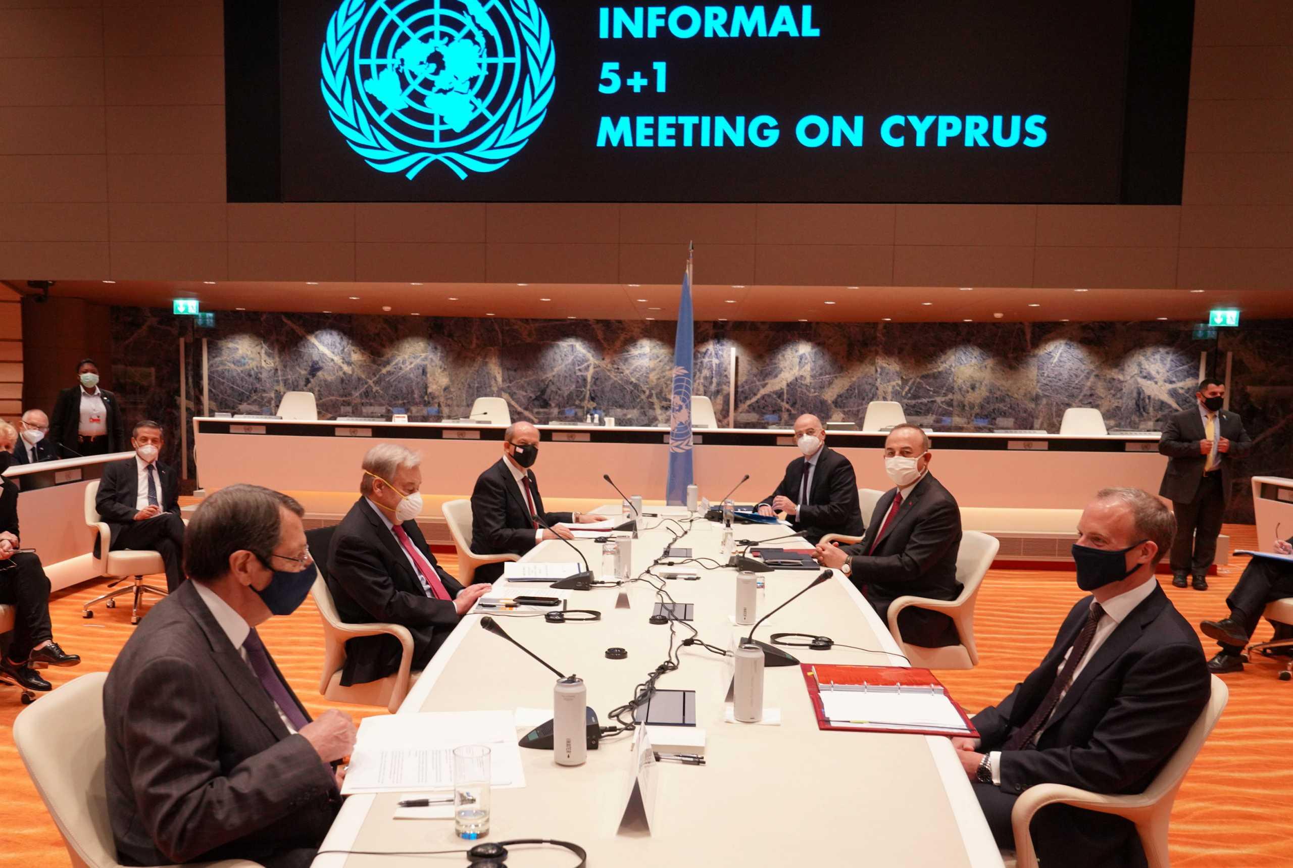 Κυπριακό: Αρνητικός ο Γκουτέρες στη λύση των δύο κρατών – Οι «κόκκινες γραμμές» του Δένδια