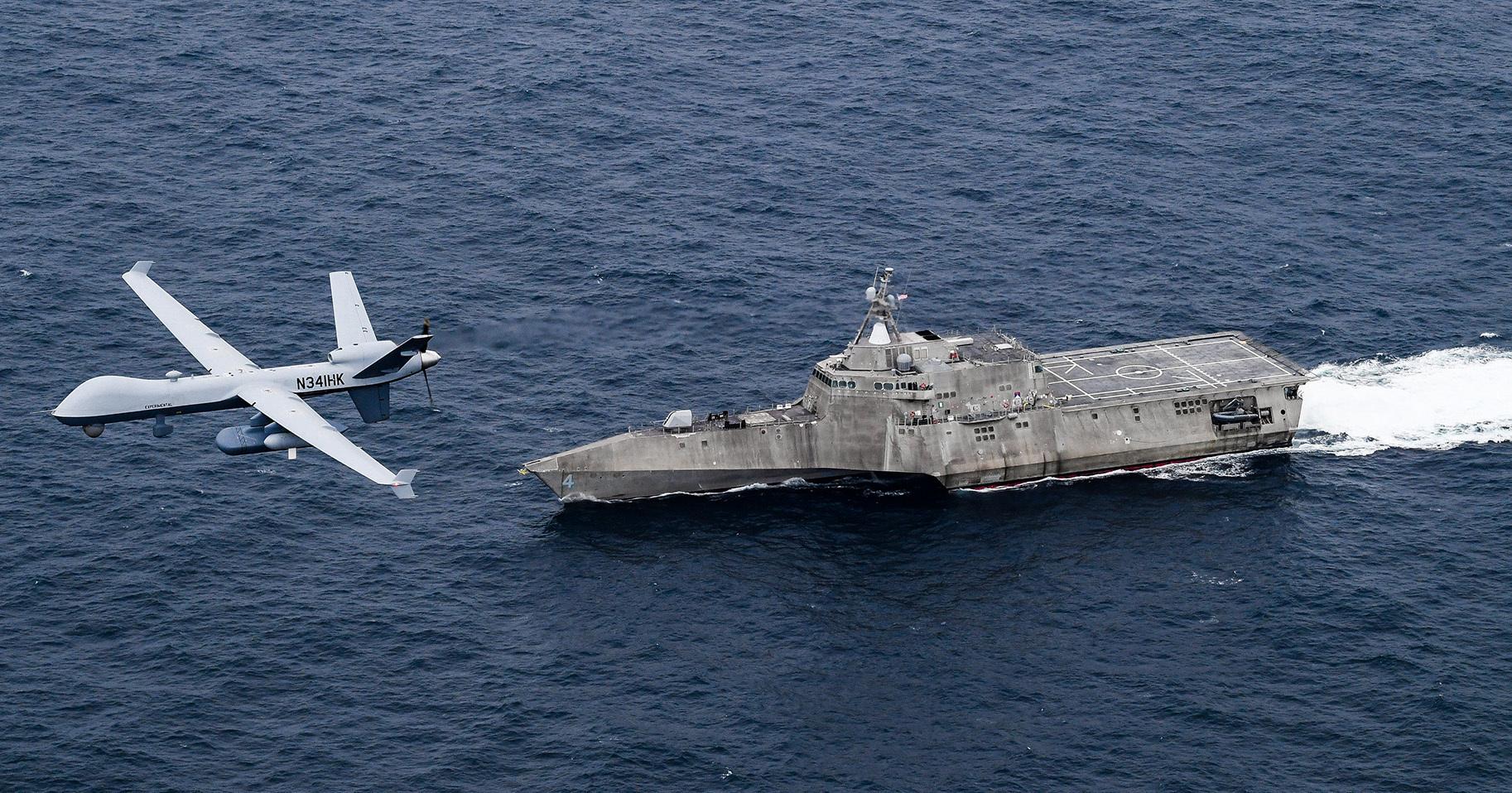 Sea Guardian: Το νέο drone του αμερικανικού Ναυτικού που θα φέρει την ανατροπή! [pics]