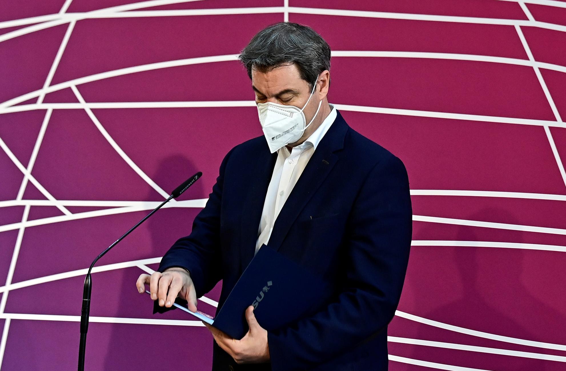 Γερμανία: Ο Μάρκους Ζέντερ προηγείται στις δημοσκοπήσεις για την καγκελαρία