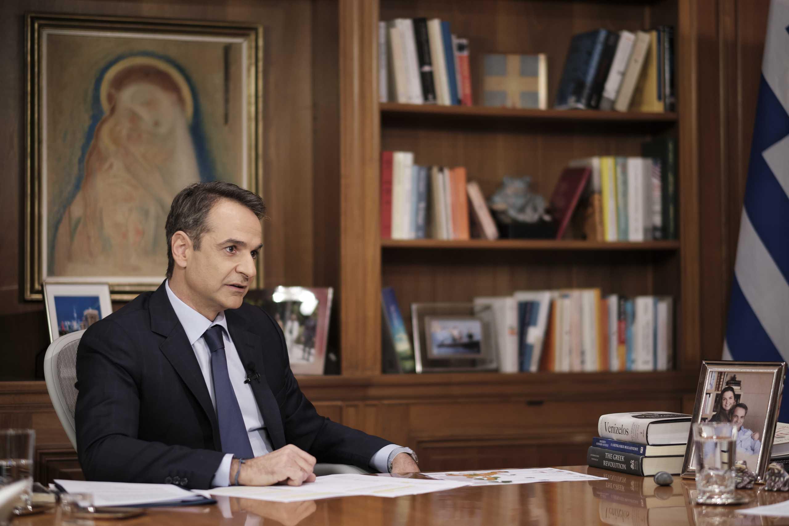 Κυριάκος Μητσοτάκης: Η συνέντευξη του Πρωθυπουργού στον Alpha