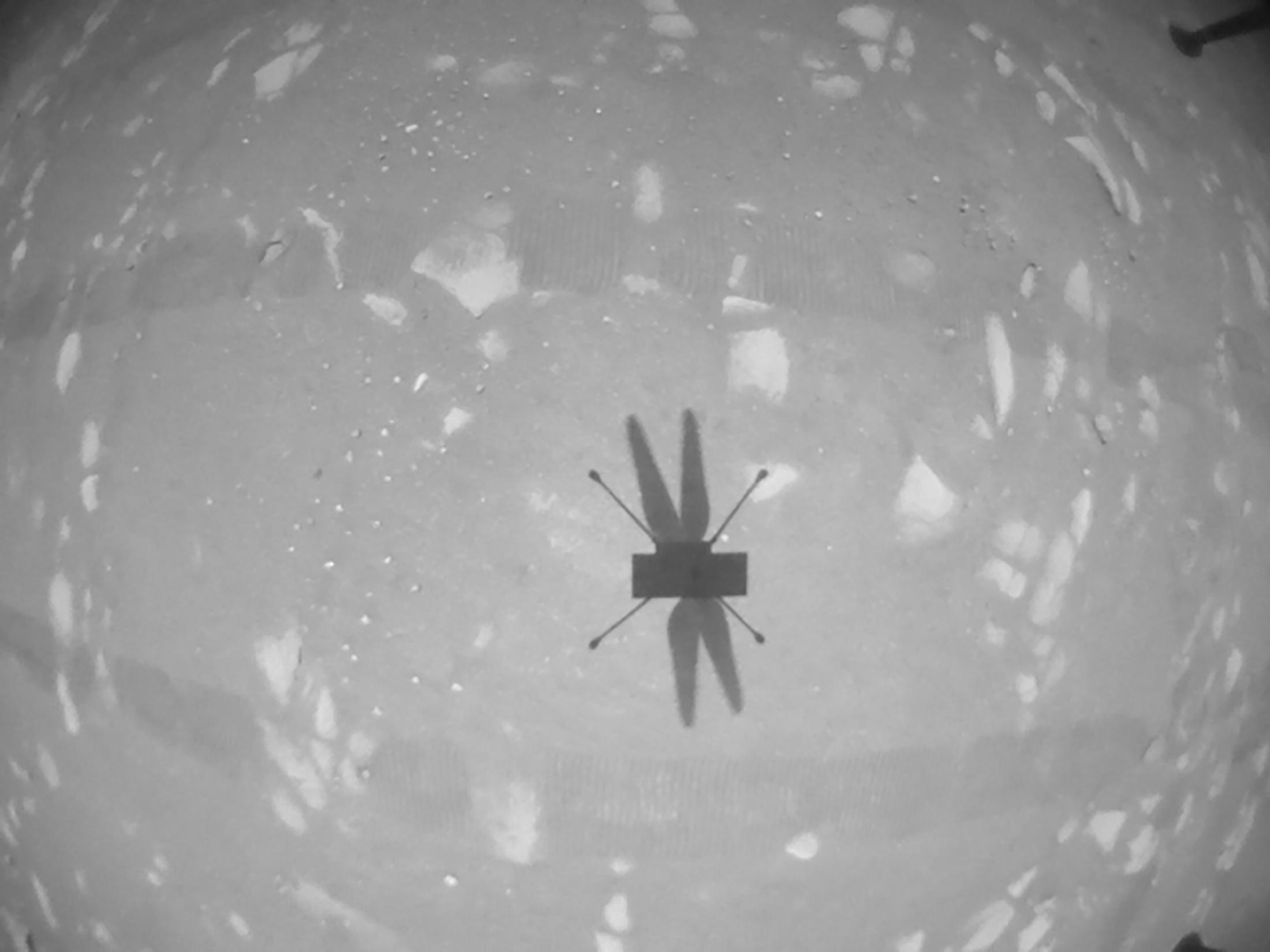 Perseverance: Δεύτερη πτήση για το ελικοπτεράκι στον πλανήτη Άρη