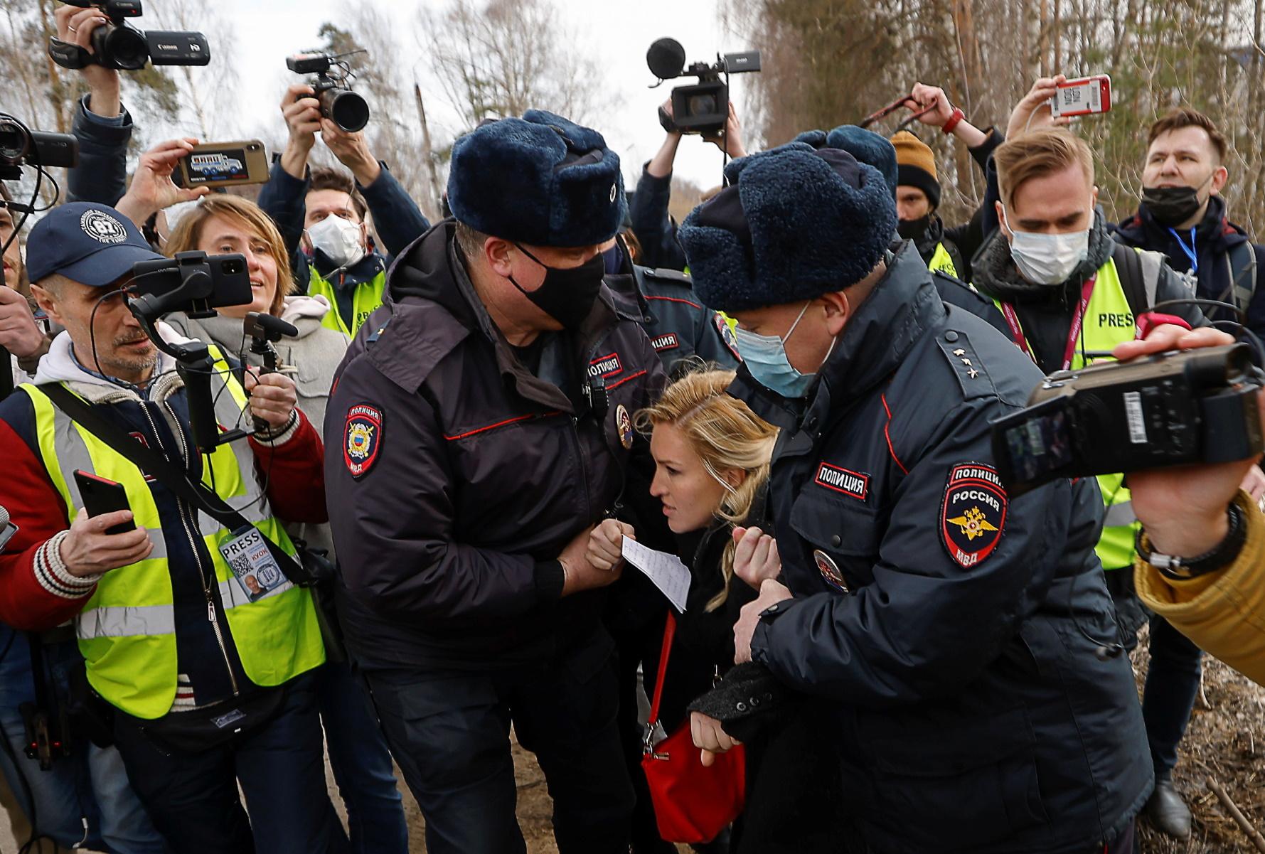 Ρωσία – Ναβάλνι: Μαζική  αστυνομική επιχείρηση κατά οπαδών του φυλακισμένου αντιφρονούντα