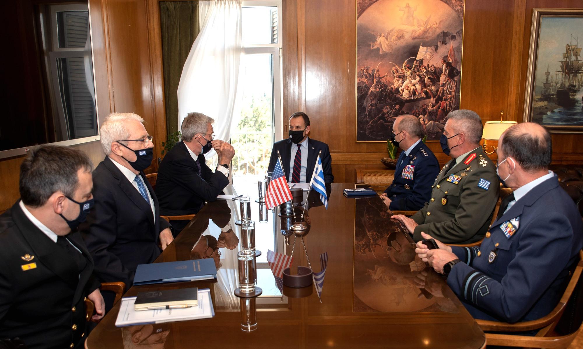 Σημαντικό τετ-α-τετ Παναγιωτόπουλου και Πάιατ με ατζέντα την αμυντική συμφωνία Ελλάδας – ΗΠΑ!