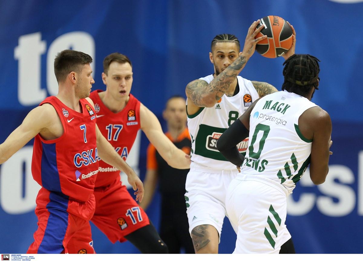 Euroleague: 16ος ο Παναθηναϊκός – Η τελική βαθμολογική κατάταξη στη regular season