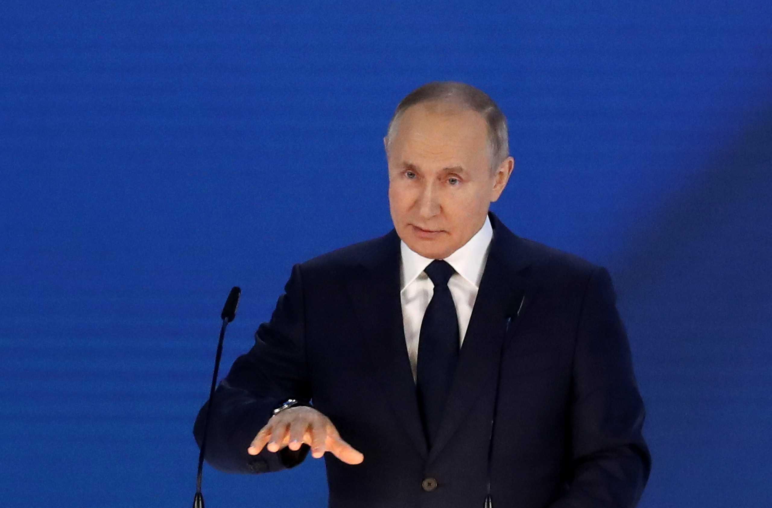 Ο Πούτιν δηλώνει  έτοιμος να συναντηθεί με τον Ουκρανό Πρόεδρο