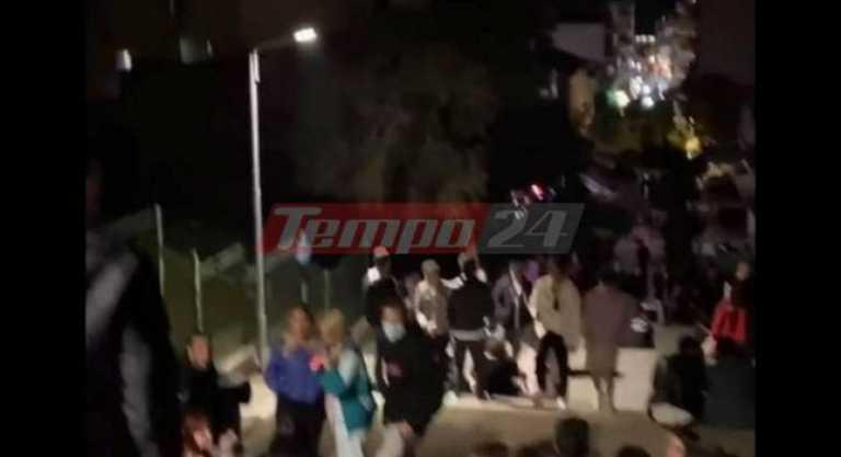 Lockdown με κορονοπάρτι στην Πάτρα: Εκατοντάδες νέοι ξεφάντωσαν χωρίς προφυλάξεις (video)