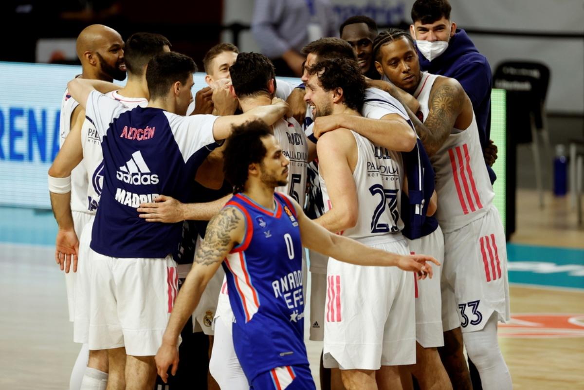 Euroleague: Άλλαξε ώρα το Εφές – Ρεάλ