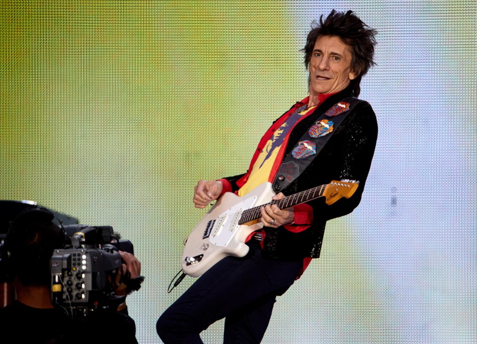 Μεγάλος μαχητής ο Ρόνι Γουντ των Rolling Stones – Νίκησε δύο φορές τον καρκίνο