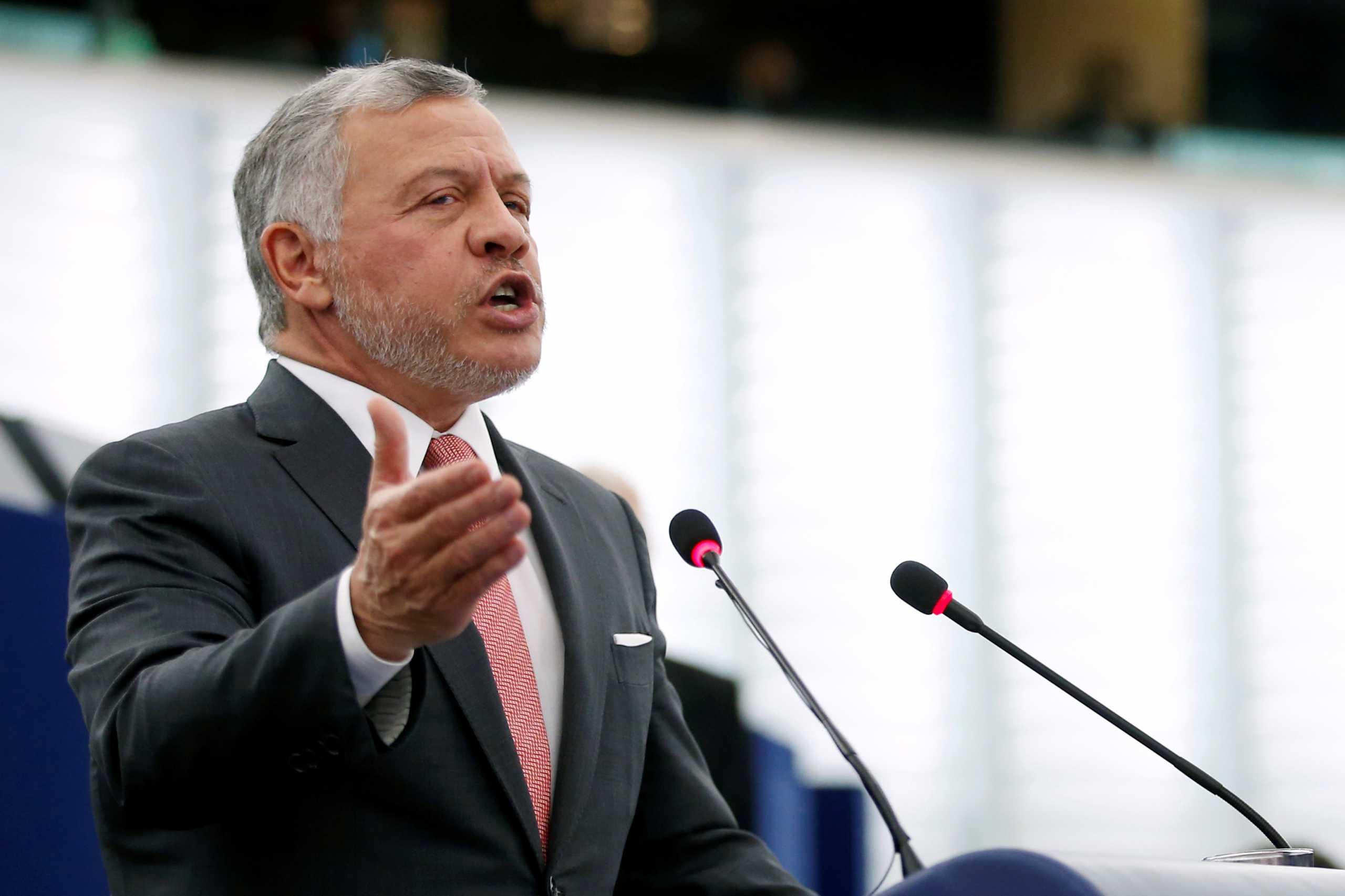 Ιορδανία: «Η οδυνηρή κρίση επιλύθηκε» διαβεβαιώνει ο βασιλιάς Αμπντάλα Β΄