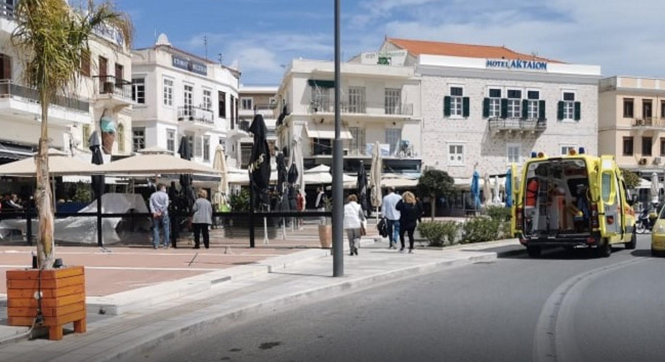 Ερμούπολη: Τον μαχαίρωσαν μέρα – μεσημέρι δίπλα στη γυναίκα του (pics)
