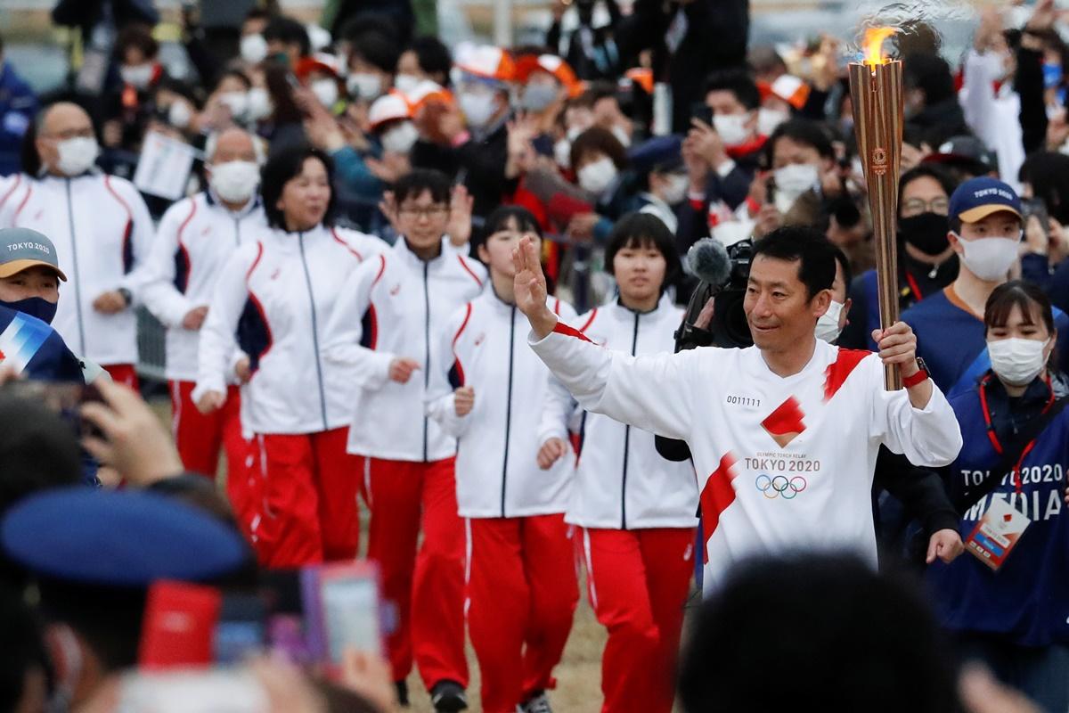 Ολυμπιακοί Αγώνες: Αναβλήθηκε η λαμπαδηδρομία στην Οσάκα λόγω «έκρηξης» των κρουσμάτων
