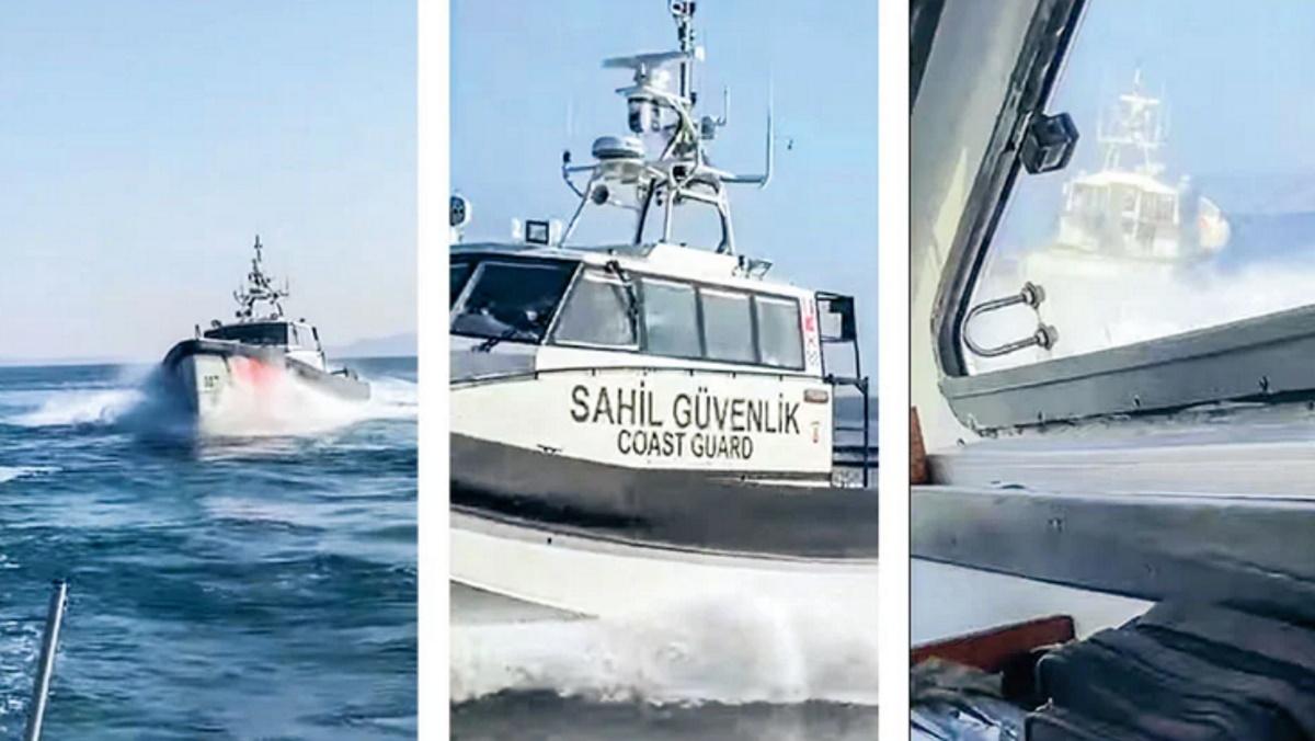 Νέα τουρκική πρόκληση αποκαλύπτεται: Προσπάθησαν να εμβολίσουν σκάφος του Λιμενικού
