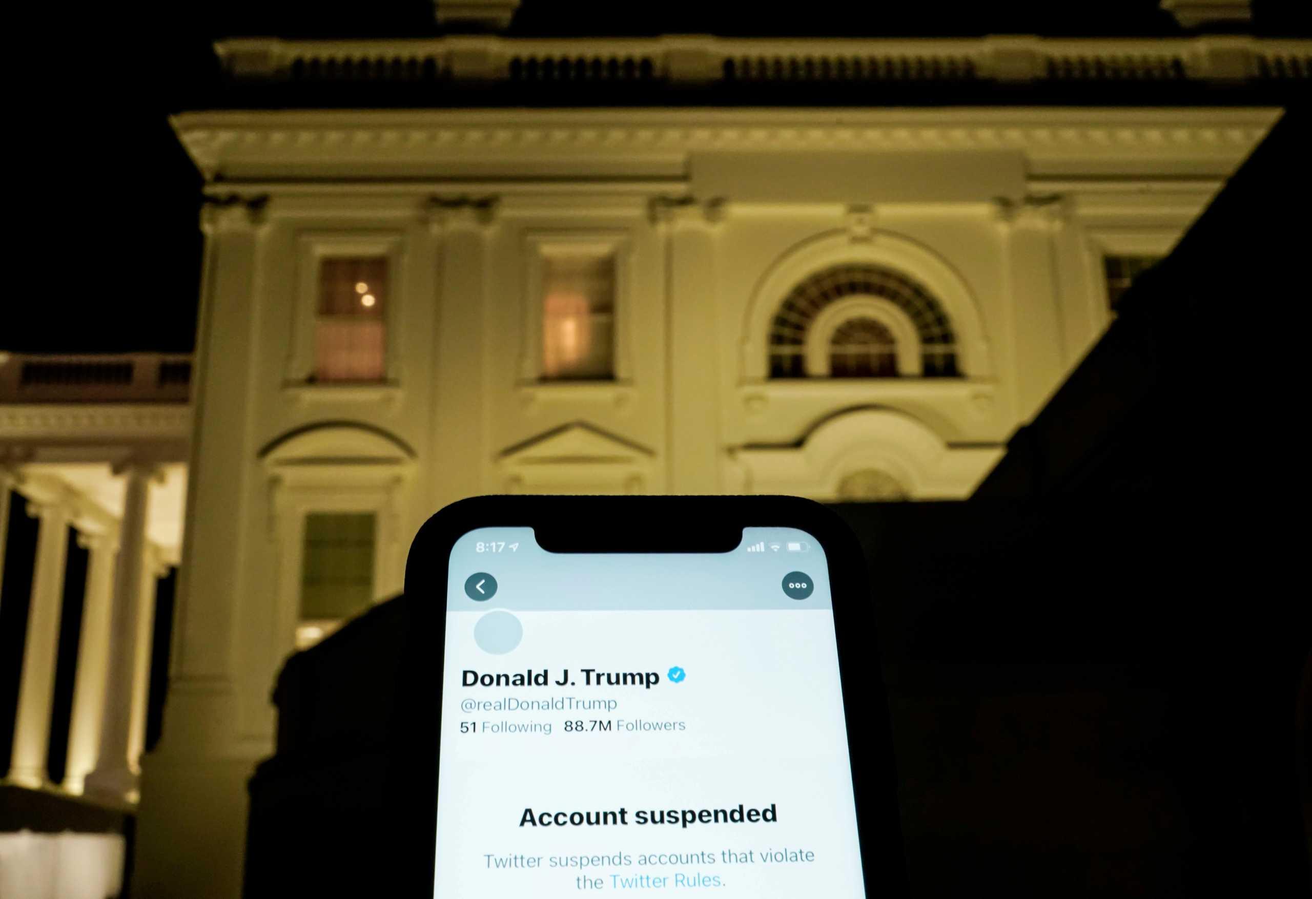 ΗΠΑ: Το Ανώτατο Δικαστήριο αρνήθηκε να εξετάσει τον «αποκλεισμό» επικριτών του Τραμπ στο Twitter