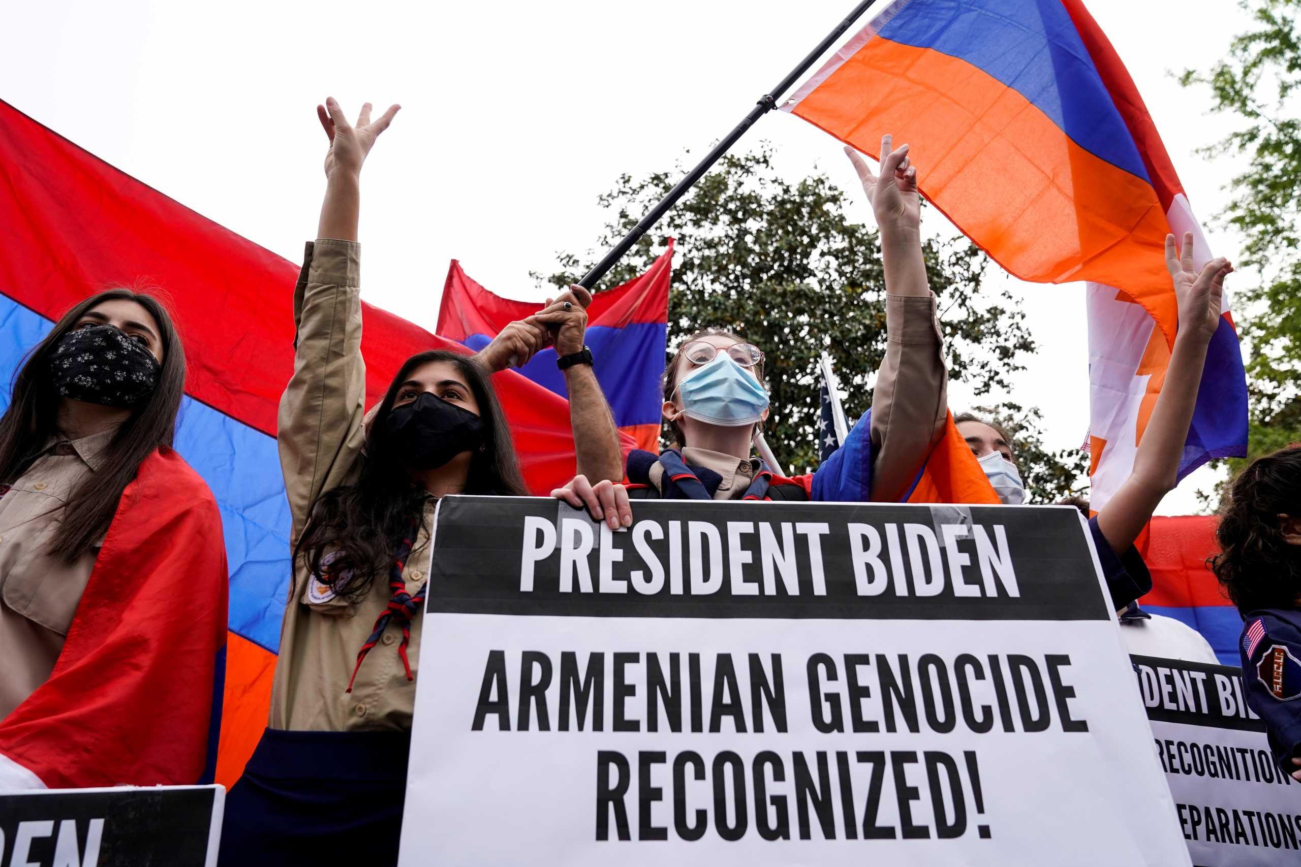 Γενοκτονία Αρμενίων: Ο Μπάιντεν εξέθεσε την «μπλόφα» και τον «εκβιασμό» του Ερντογάν