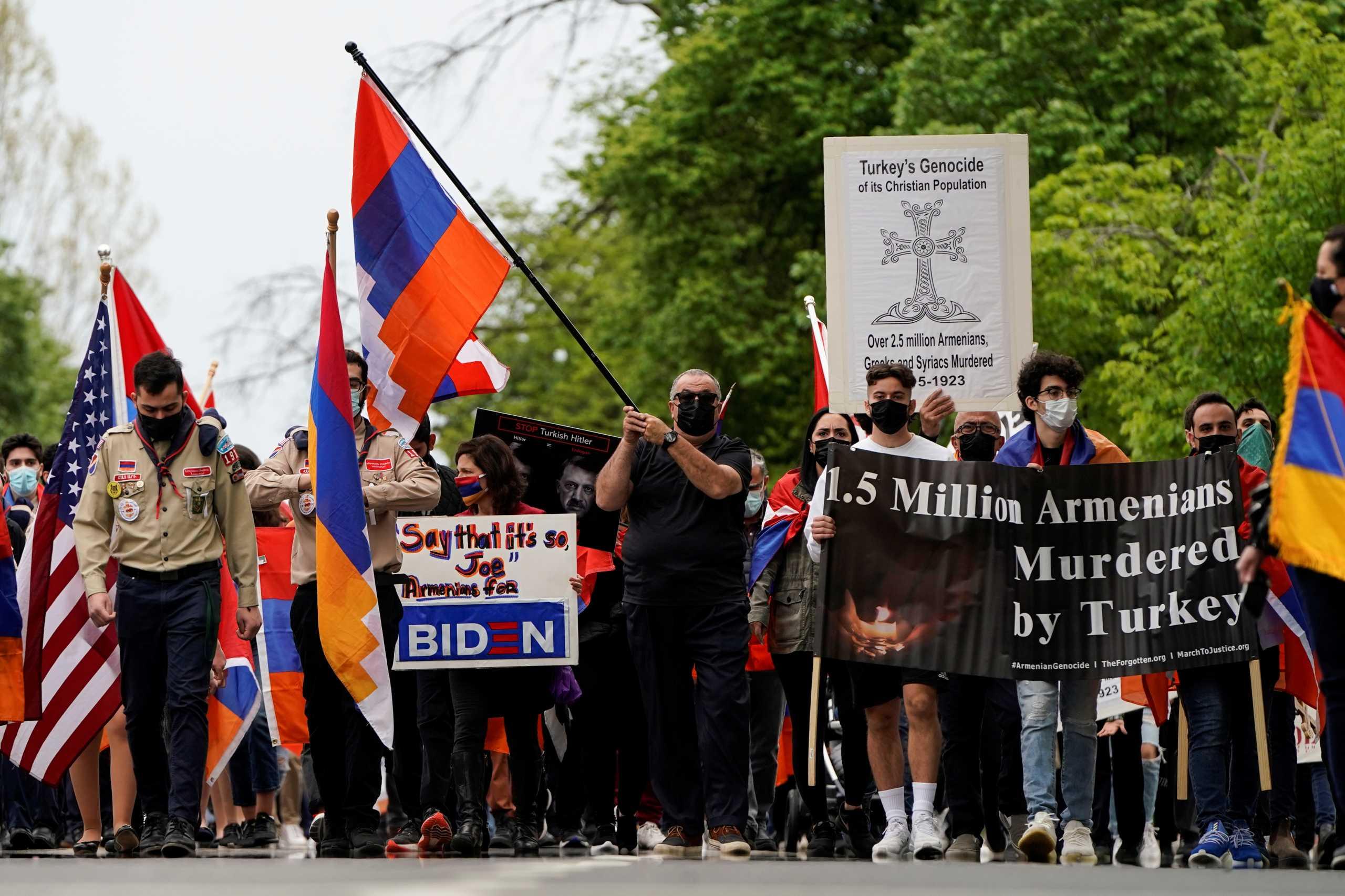 Γενοκτονία Αρμενίων: Μονοπωλεί τα γερμανικά ΜΜΕ η απόφαση Μπάιντεν – «Επιλέγει άλλο δρόμο»