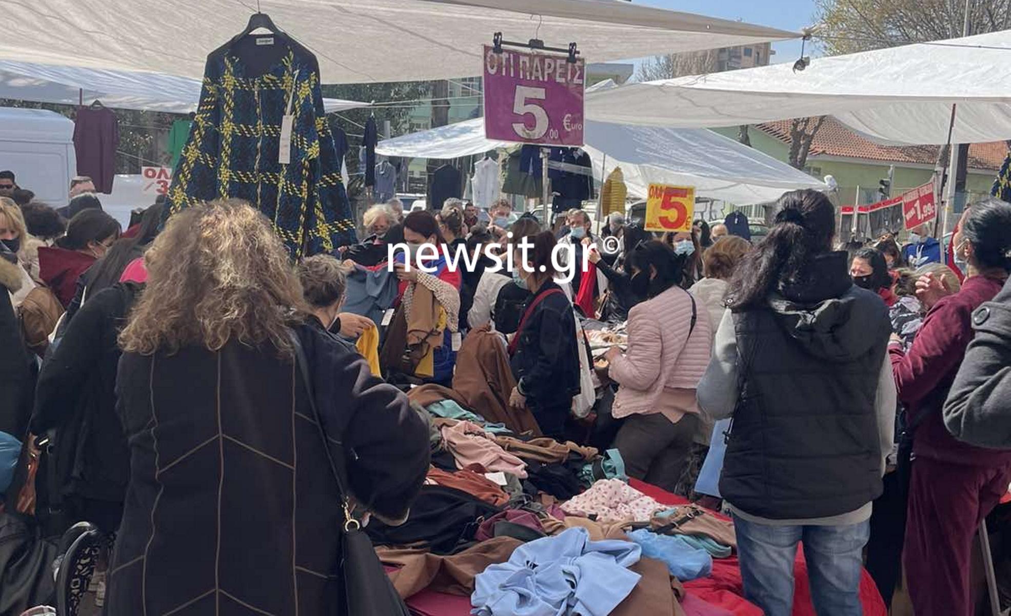 Θεσσαλονίκη: «Βούλιαξαν» οι λαϊκές αγορές μετά την απόφαση – ανατροπή για το λιανεμπόριο (pics, vid)