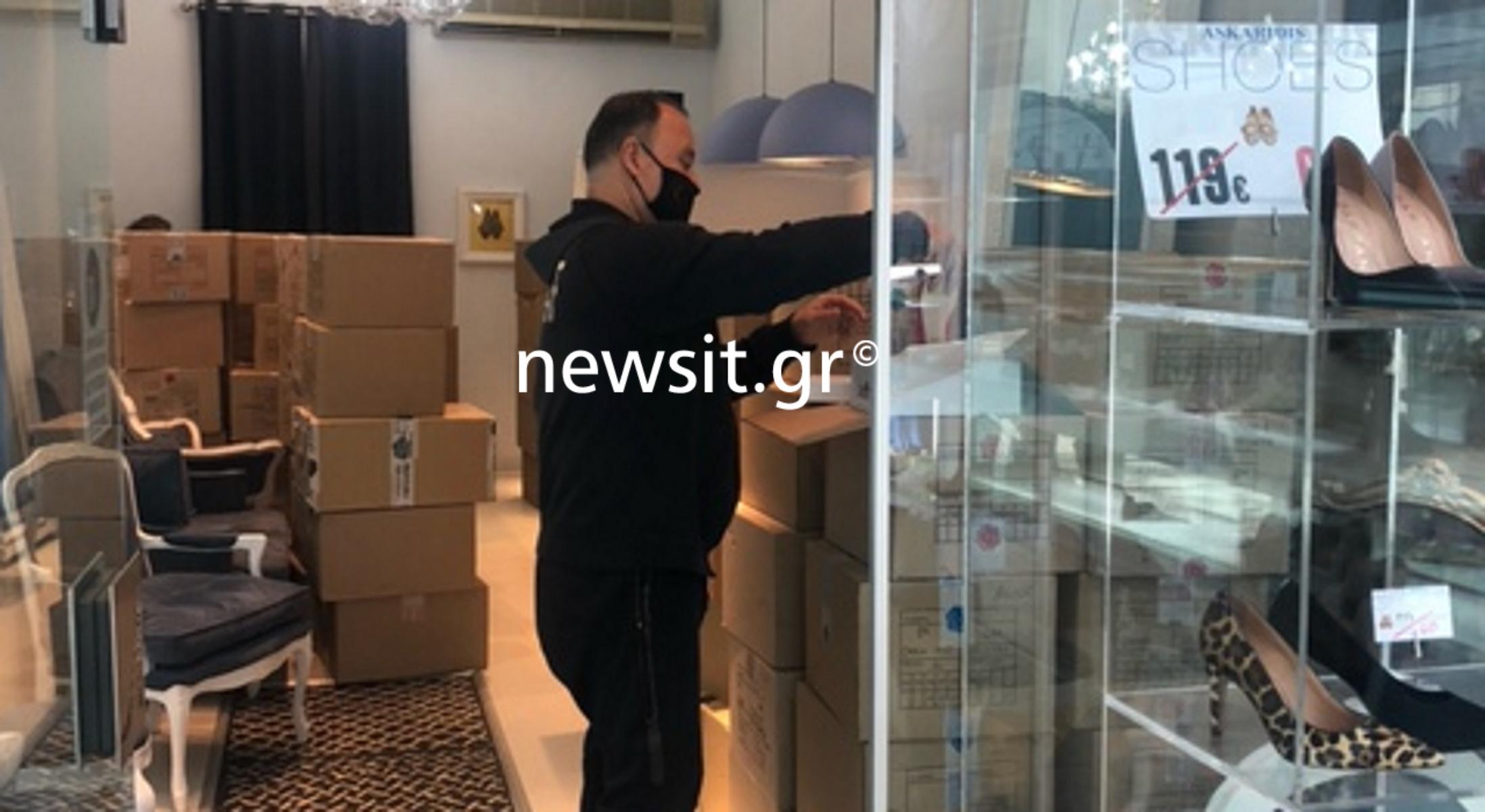 Θεσσαλονίκη: Στο φουλ οι ετοιμασίες στα καταστήματα – «Δεν βλέπουμε την ώρα να υποδεχτούμε τους πελάτες» (pics)