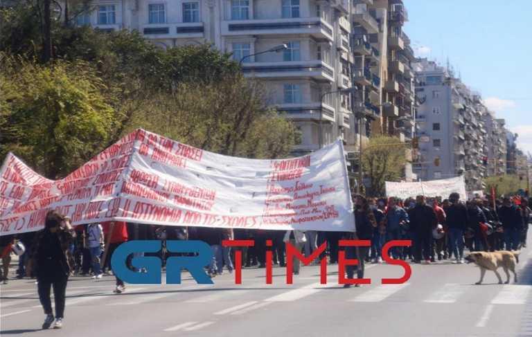Θεσσαλονίκη: Νέο πανεκπαιδευτικό συλλαλητήριο κατά του νόμου Κεραμέως - Χρυσοχοΐδη (pics, vid)