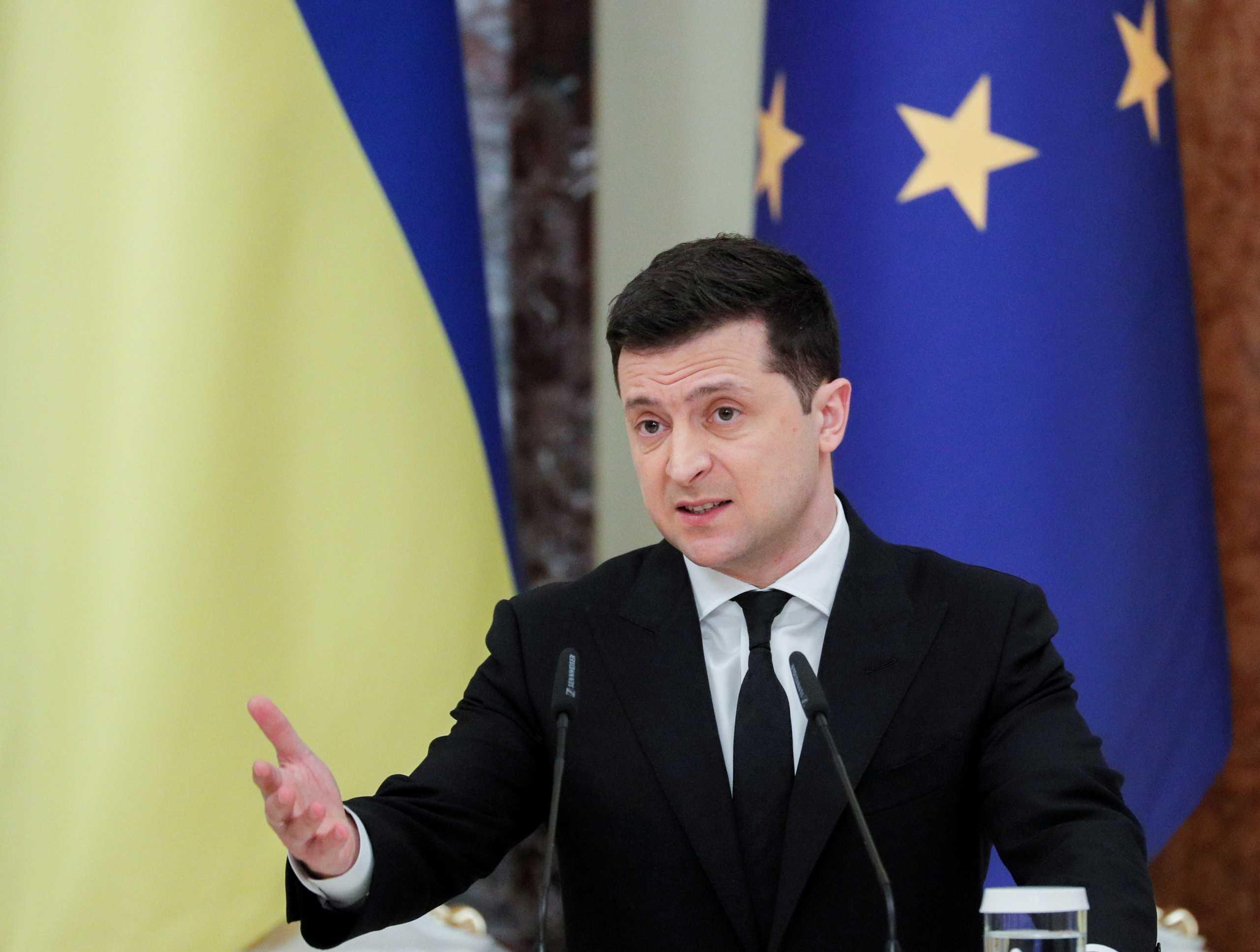 Ξέσπασε ο πρόεδρος της Ουκρανίας ζητώντας την ένταξή της στην ΕΕ και στο ΝΑΤΟ