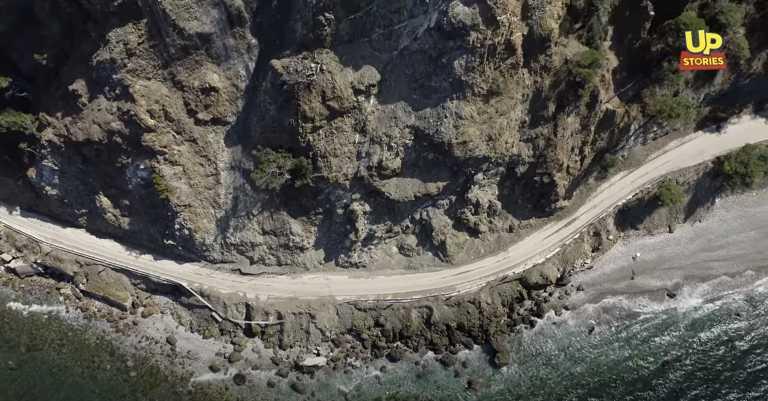 Προσοχή, βρέχει βράχους: Αυτός ο παραλιακός δρόμος της Αττικής είναι ο πιο επικίνδυνος της Ελλάδας (video)