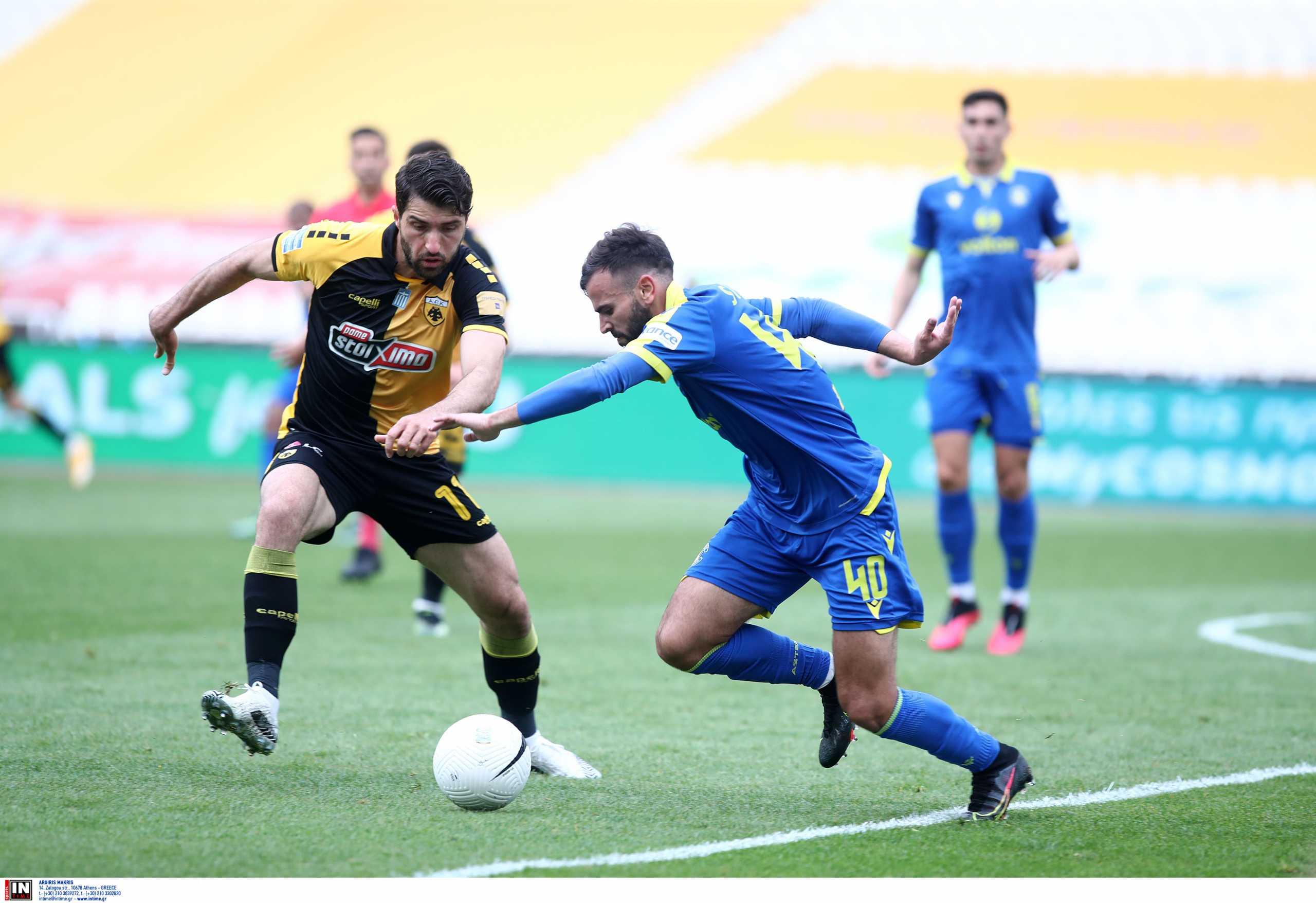 ΑΕΚ – Αστέρας Τρίπολης 3-1 ΤΕΛΙΚΟ