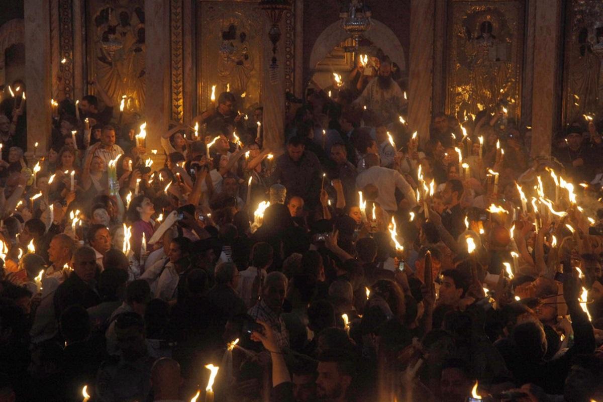 Άγιο Φως: Πότε και πώς θα φτάσει στην Ελλάδα από τα Ιεροσύλημα (vid)