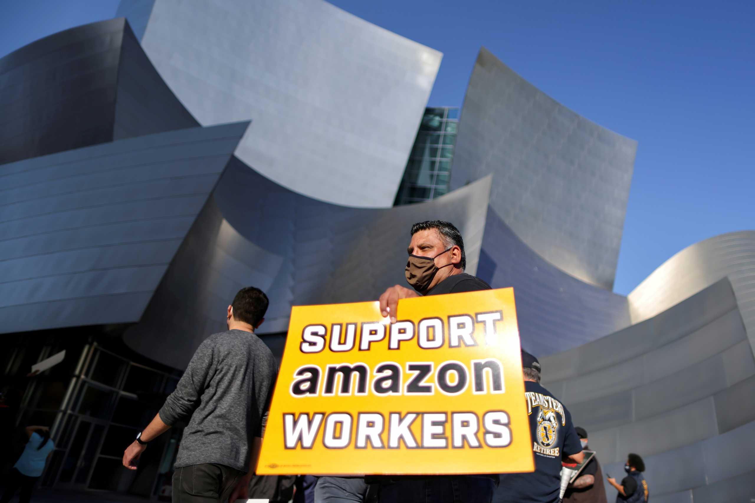 «Βλέπουν» την ήττα οι συνδικαλιστές στην αποθήκη της Amazon στην Αλαμπάμα