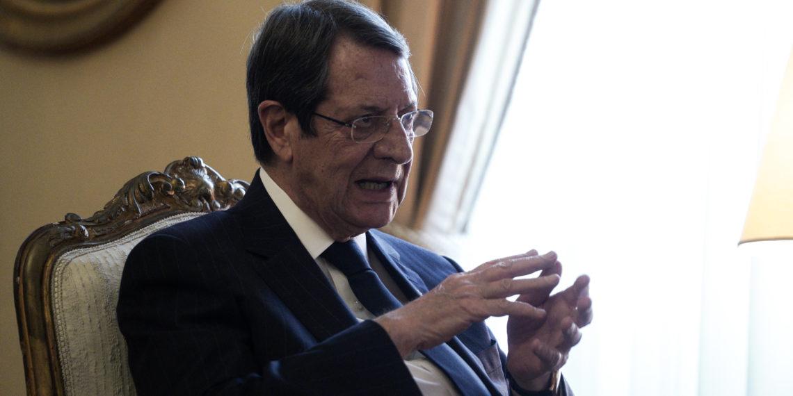 Κατηγορηματικός ο Αναστασιάδης: Η δημιουργία δύο κρατών δεν έχει θέση στο Κυπριακό