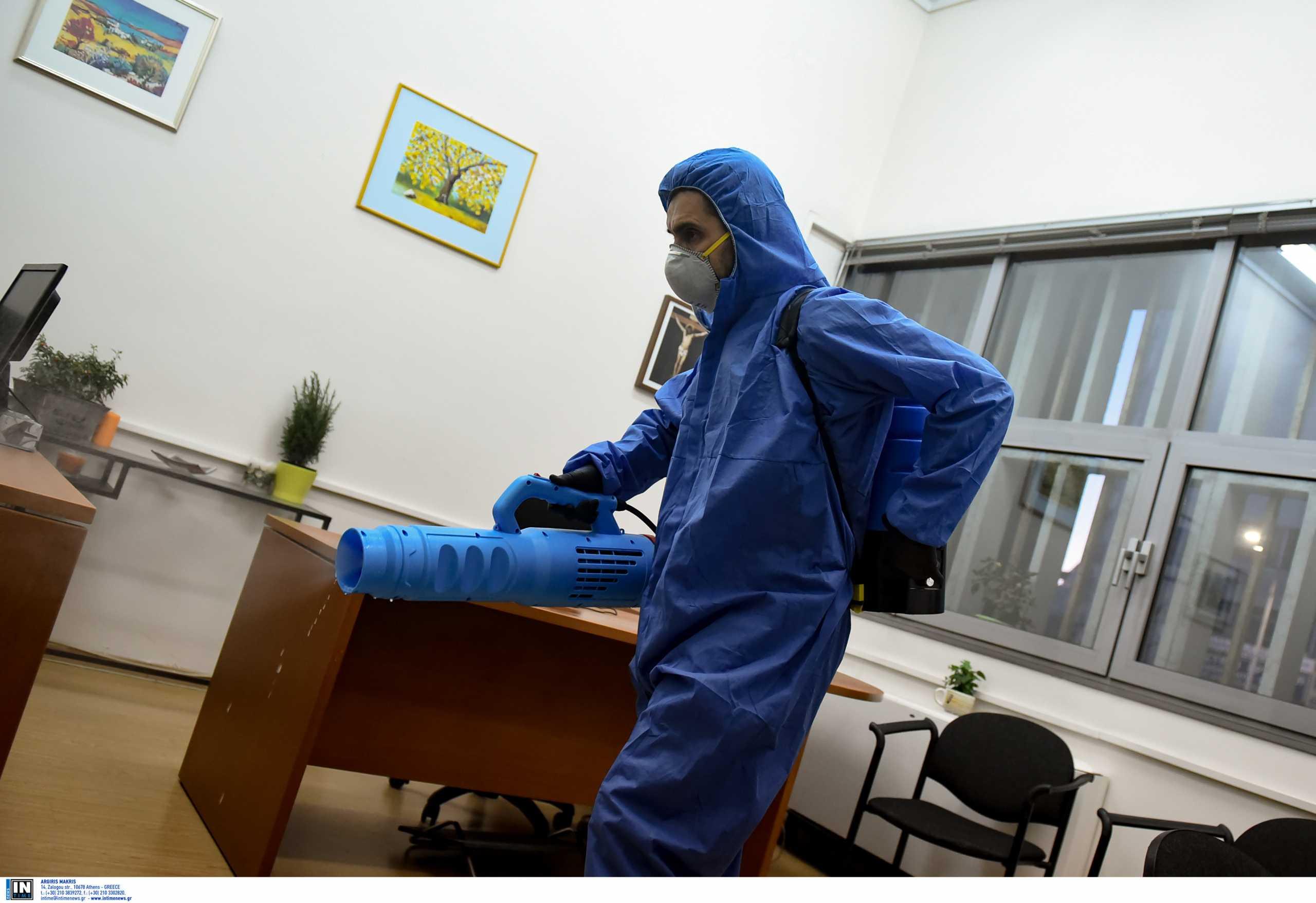 Κορονοϊός: Η συχνή απολύμανση των επιφανειών σκοτώνει τον ιό; Τι απαντά το CDC