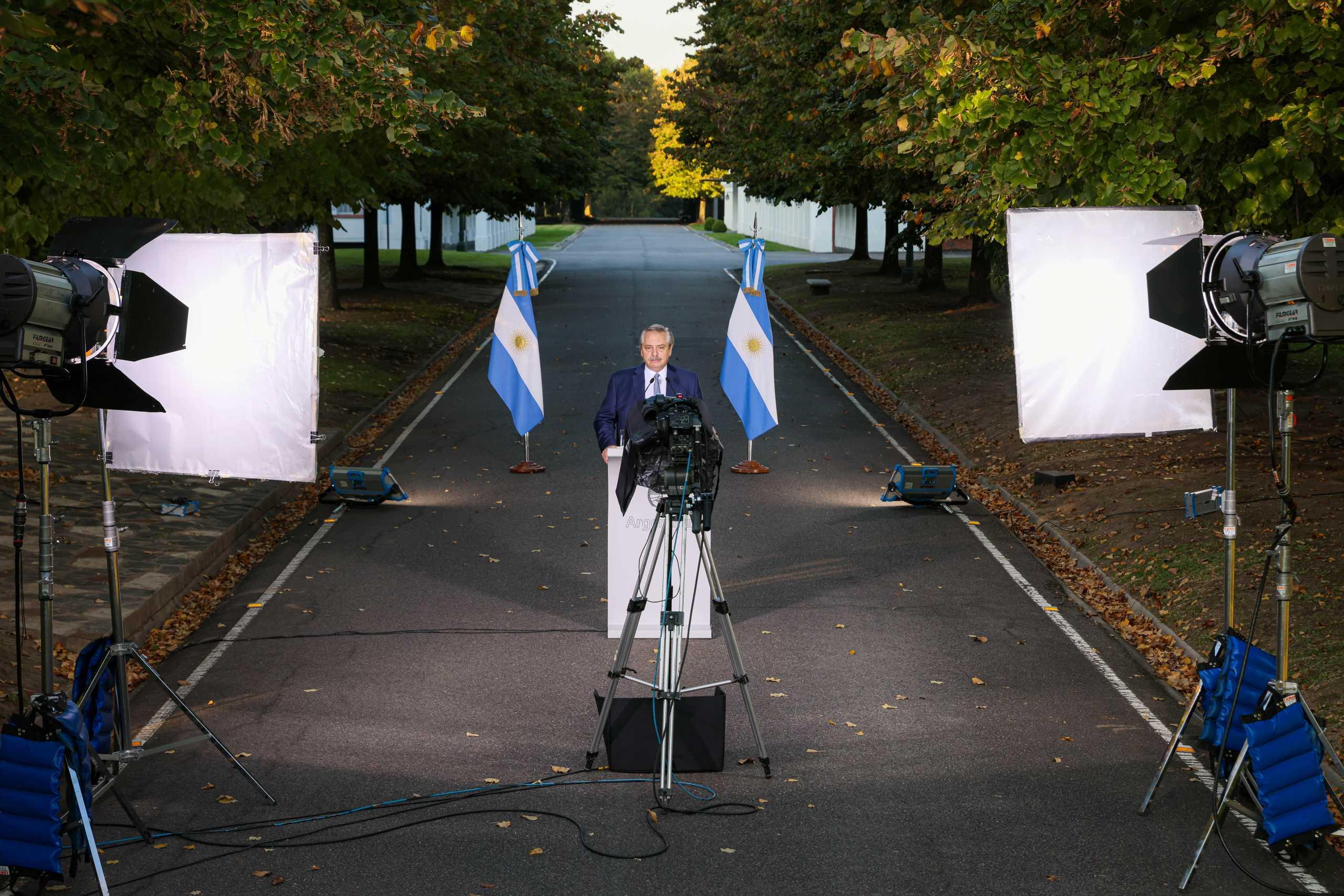 Ξεπέρασε τον κορονοϊό ο πρόεδρος της Αργεντινής