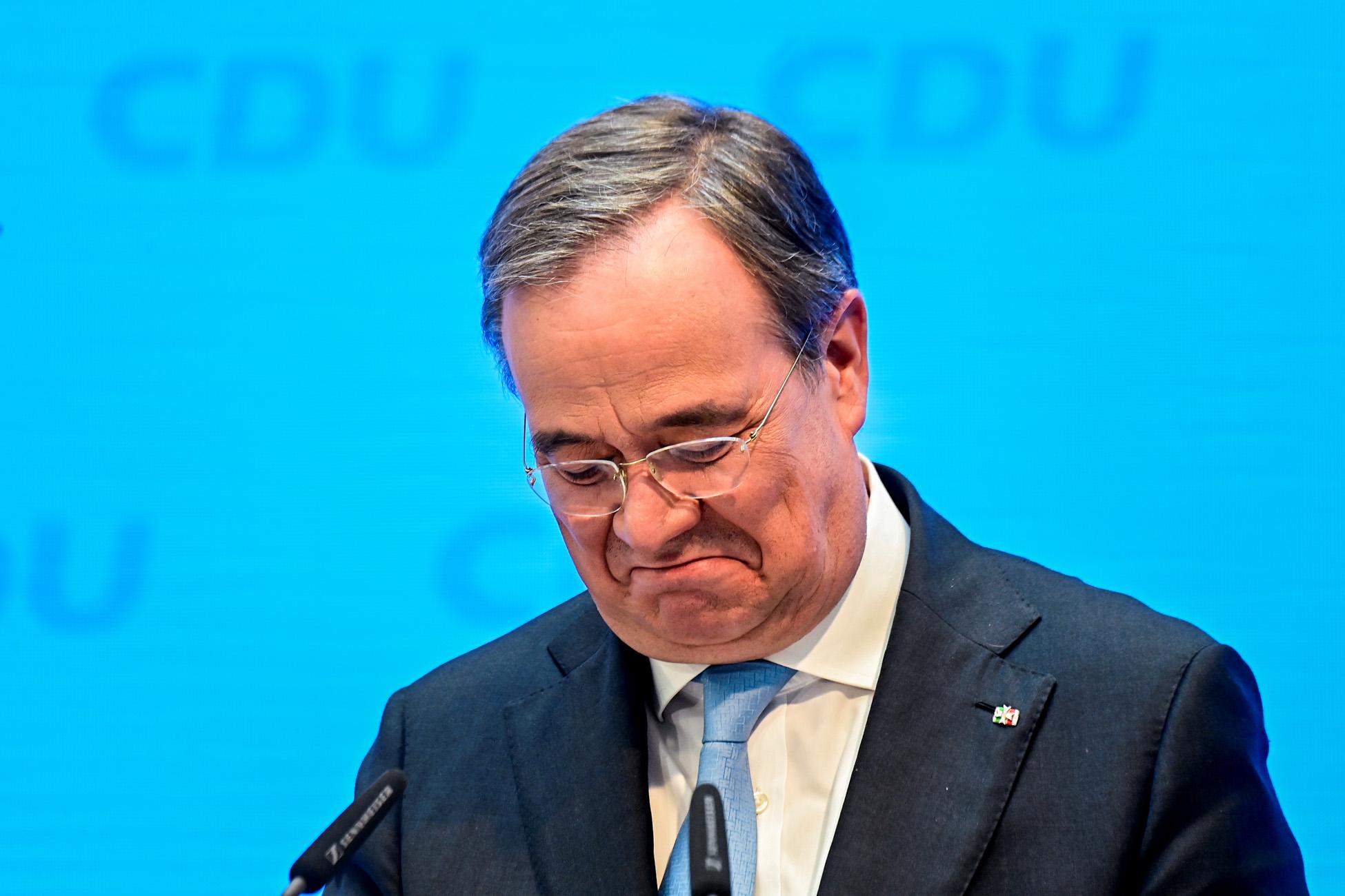 Γερμανία: «Λάθος επιλογή» ο Άρμιν Λάσετ για την Καγκελαρία λένε οι πολίτες