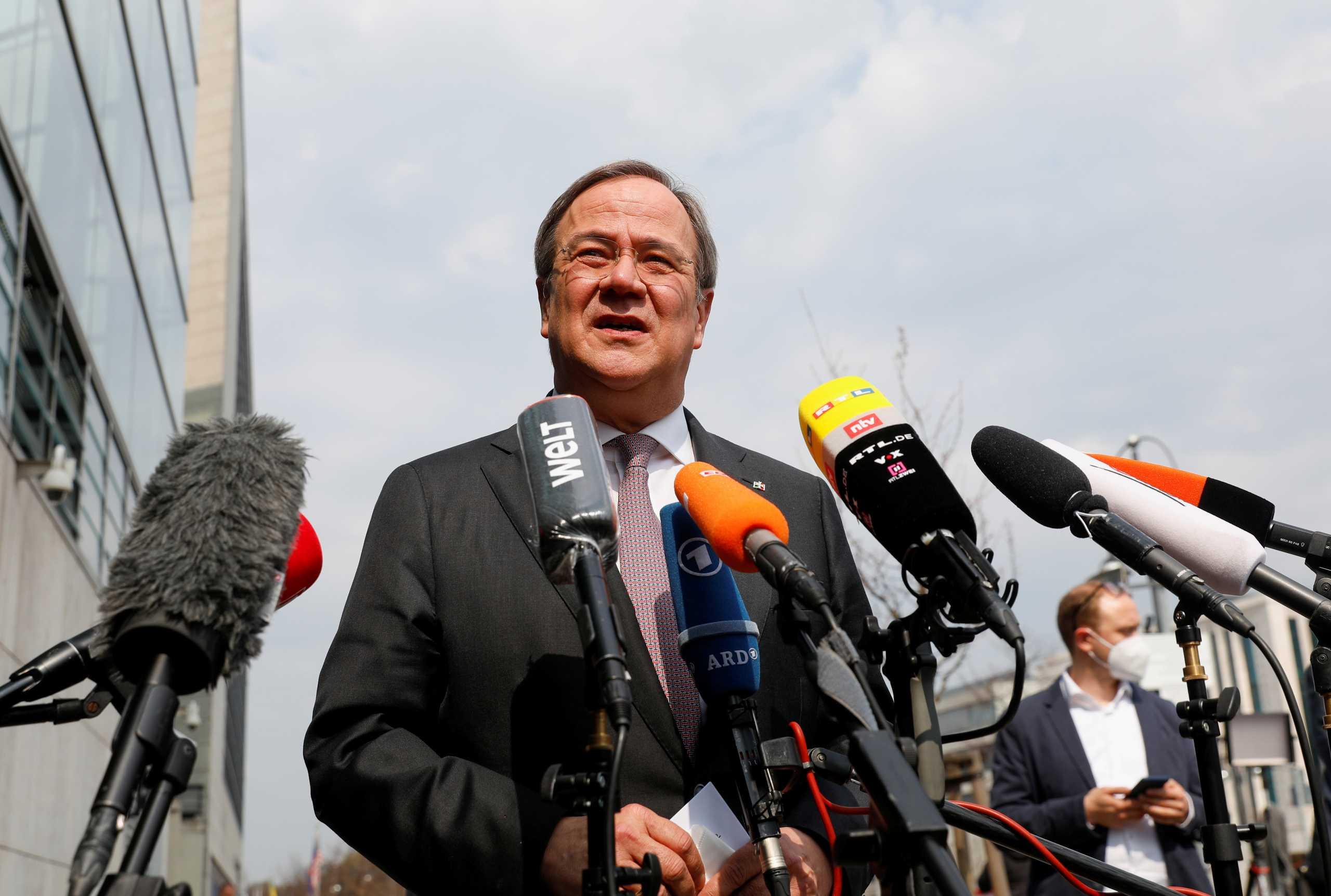 Είναι επίσημο: Ο Άρμιν Λάσετ υποψήφιος Καγκελάριος της Γερμανίας