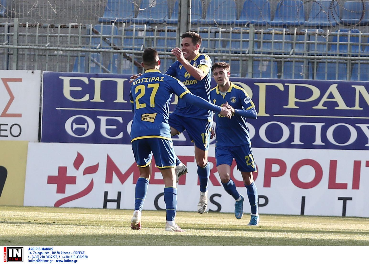Αστέρας Τρίπολης – ΠΑΟΚ 1-1 ΤΕΛΙΚΟ!